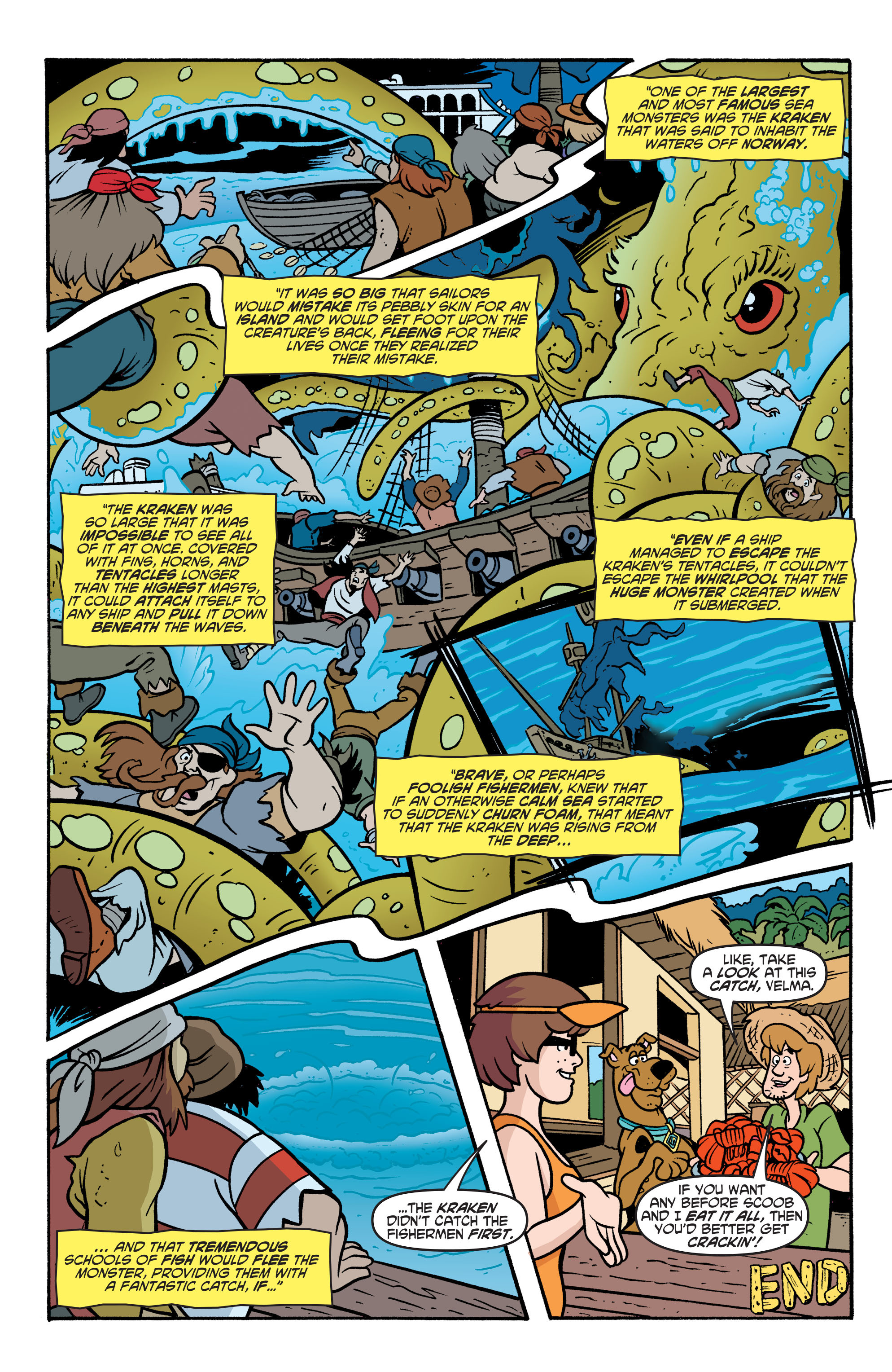 Read online Scooby-Doo: Where Are You? comic -  Issue #77 - 13