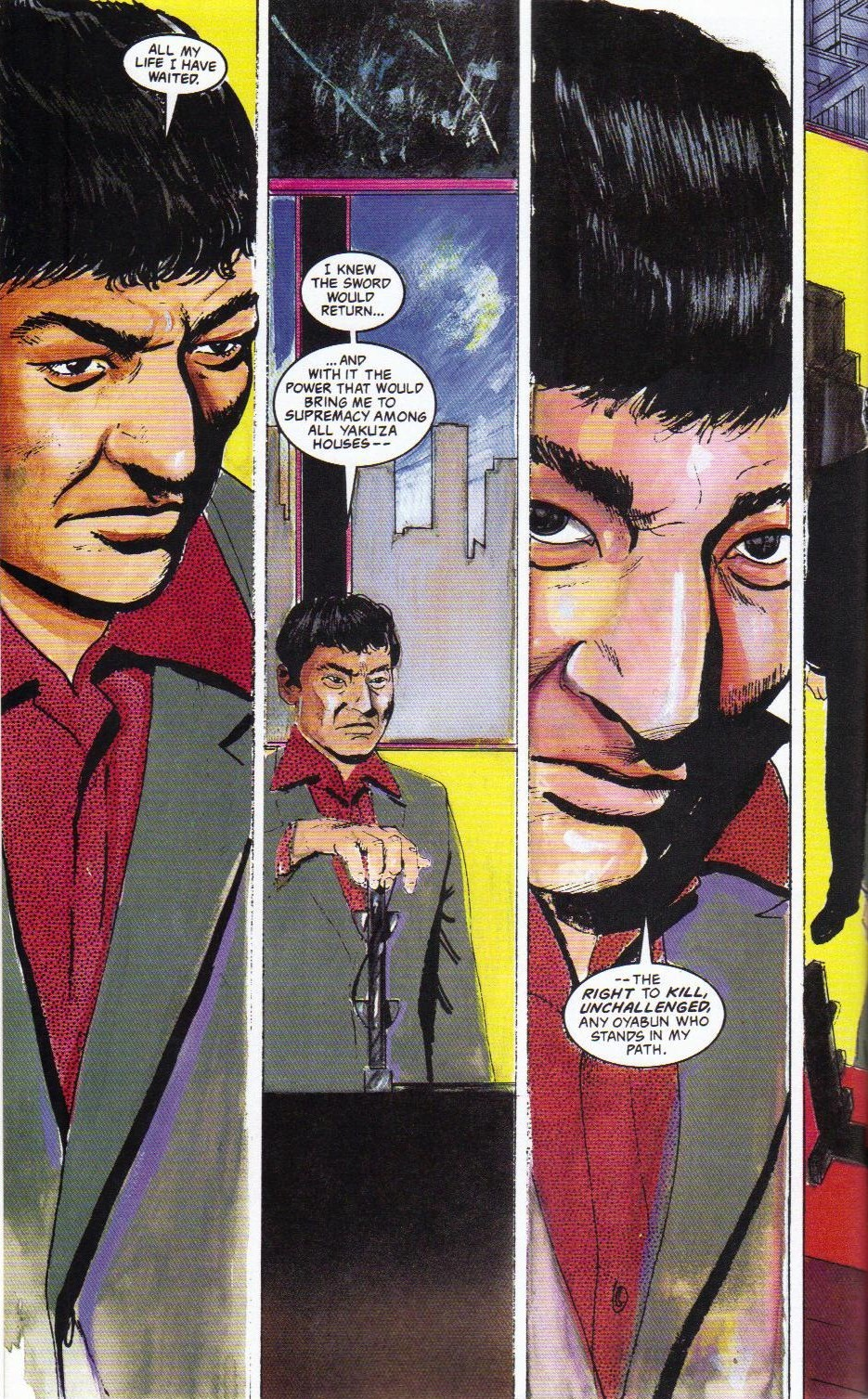 Read online Shado: Song of the Dragon comic -  Issue #2 - 10