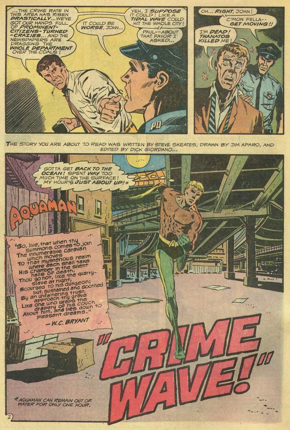 Read online Aquaman (1962) comic -  Issue #54 - 4
