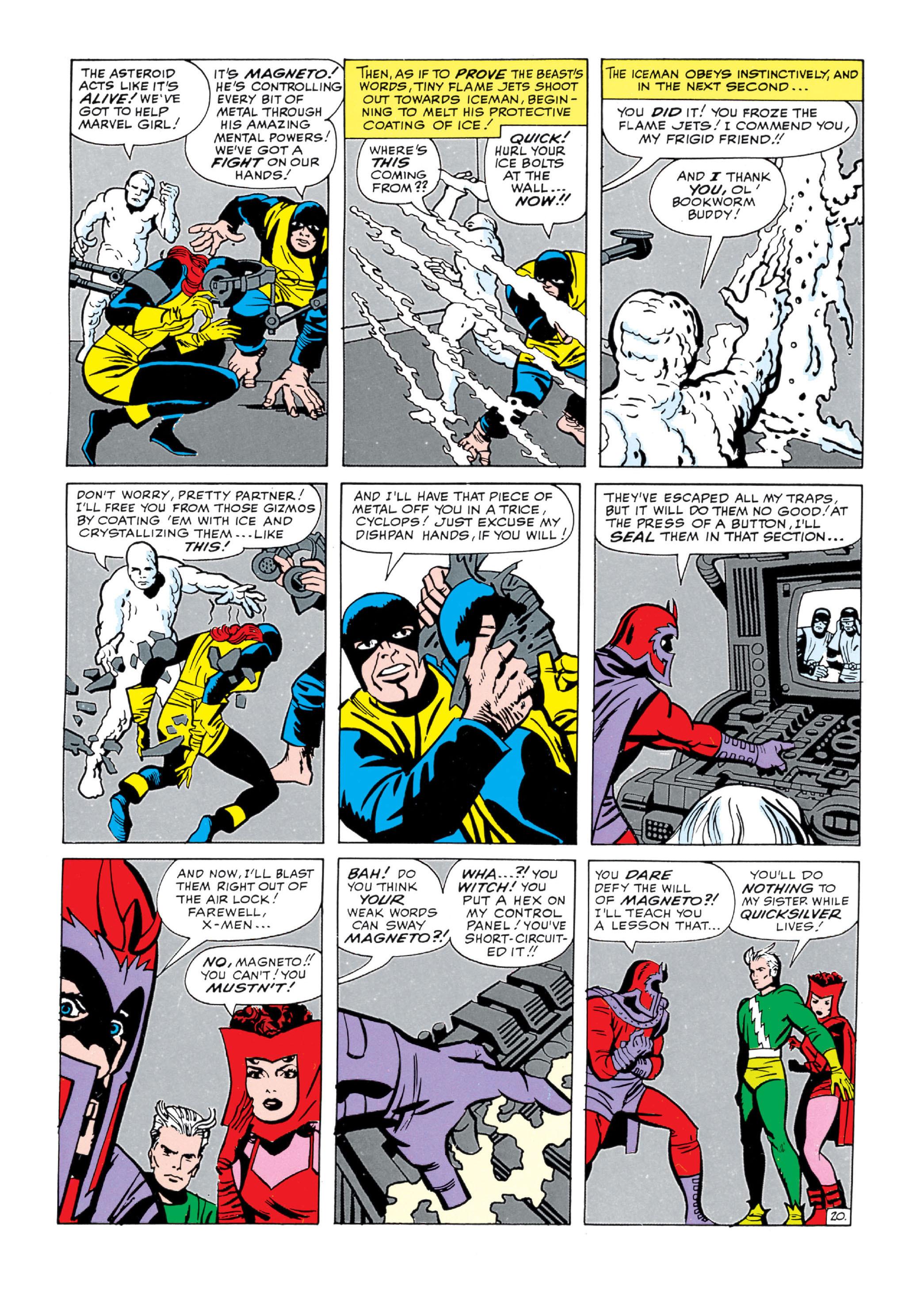 Read online Uncanny X-Men (1963) comic -  Issue #5 - 21