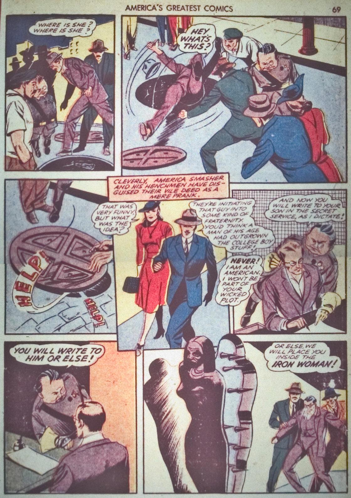 Read online America's Greatest Comics comic -  Issue #1 - 72
