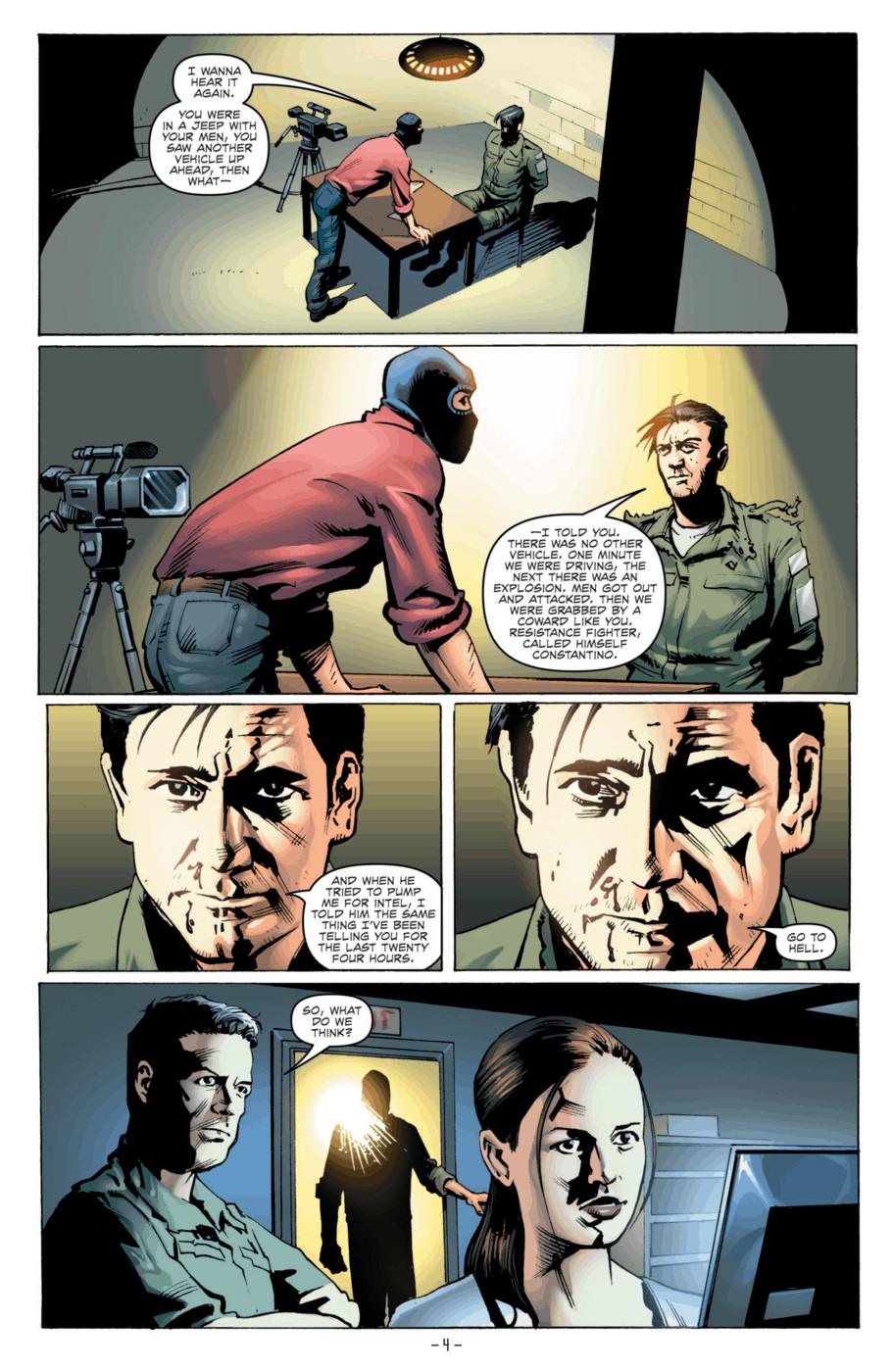 Read online Jericho Season 4 comic -  Issue #2 - 6