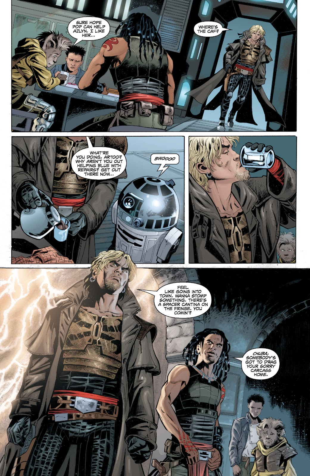 Read online Star Wars Legends: Legacy - Epic Collection comic -  Issue # TPB 2 (Part 4) - 54