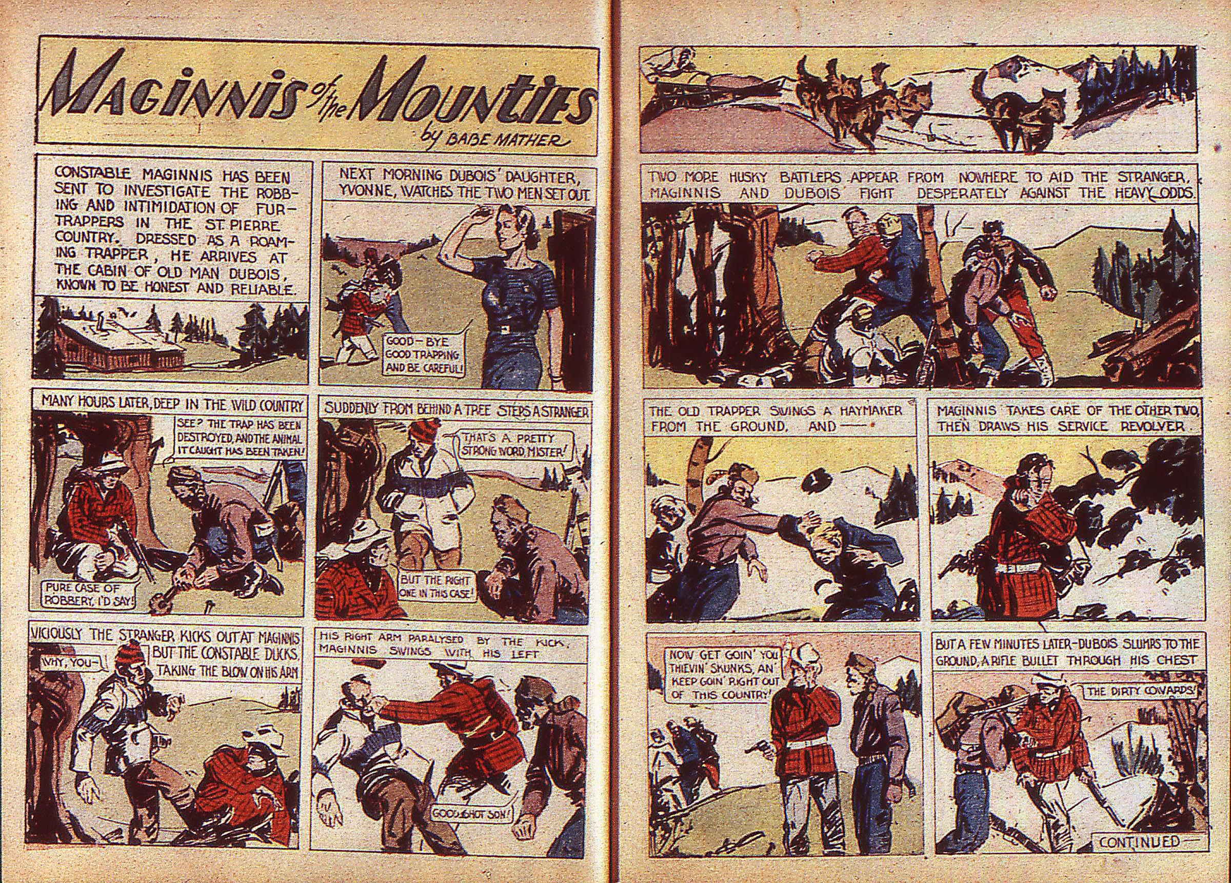 Read online Adventure Comics (1938) comic -  Issue #5 - 8