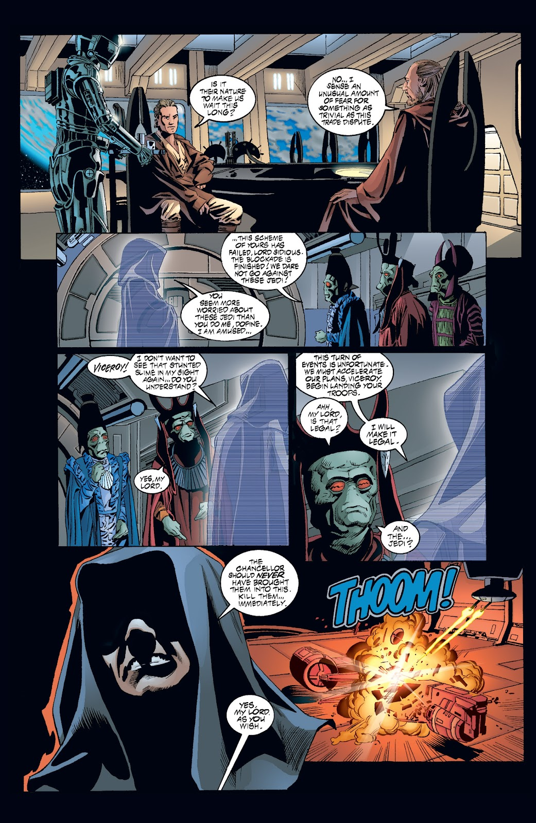 Read online Star Wars Legends: Rise of the Sith - Epic Collection comic -  Issue # TPB 2 (Part 3) - 42