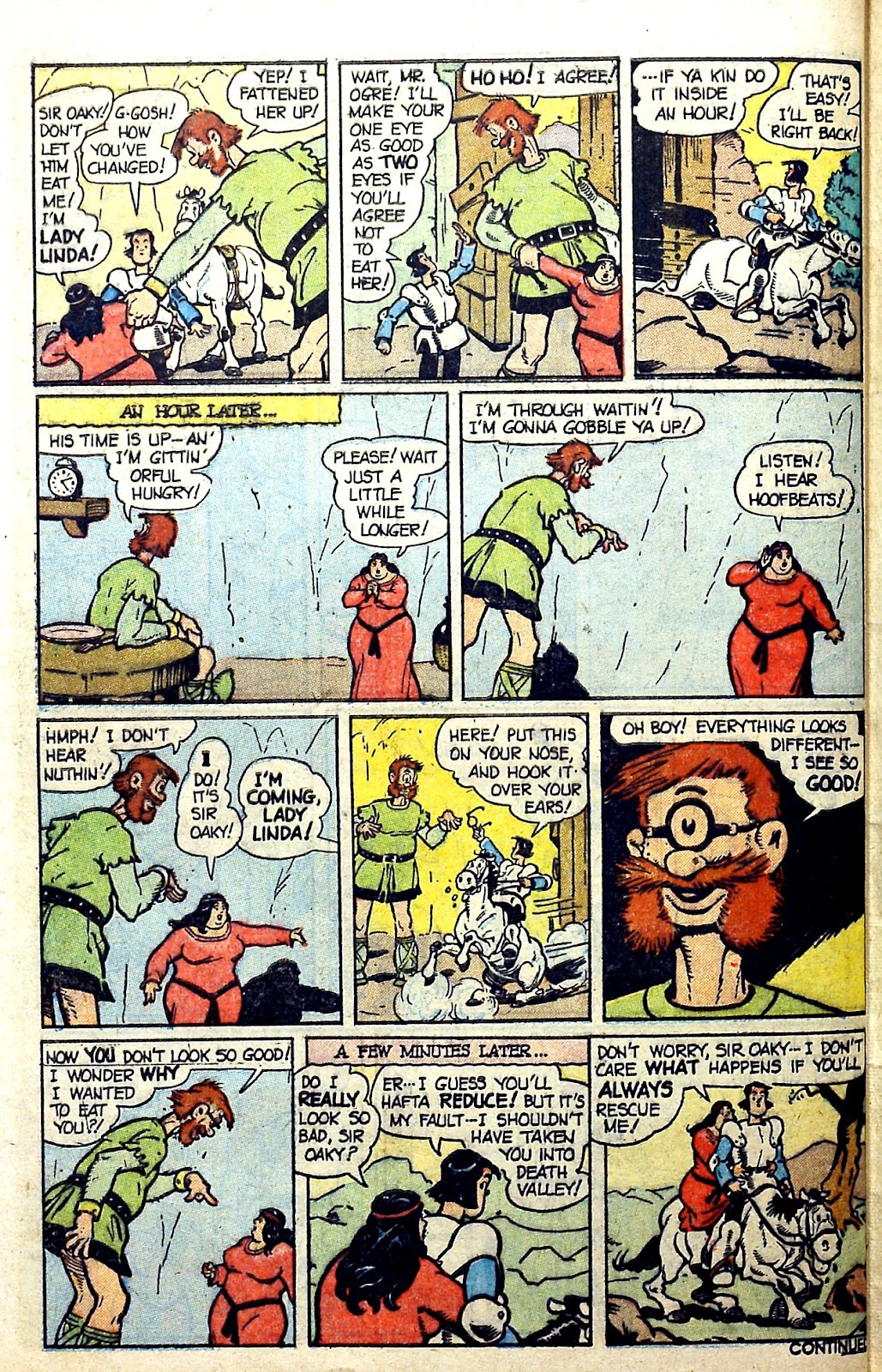 Read online Famous Funnies comic -  Issue #187 - 42