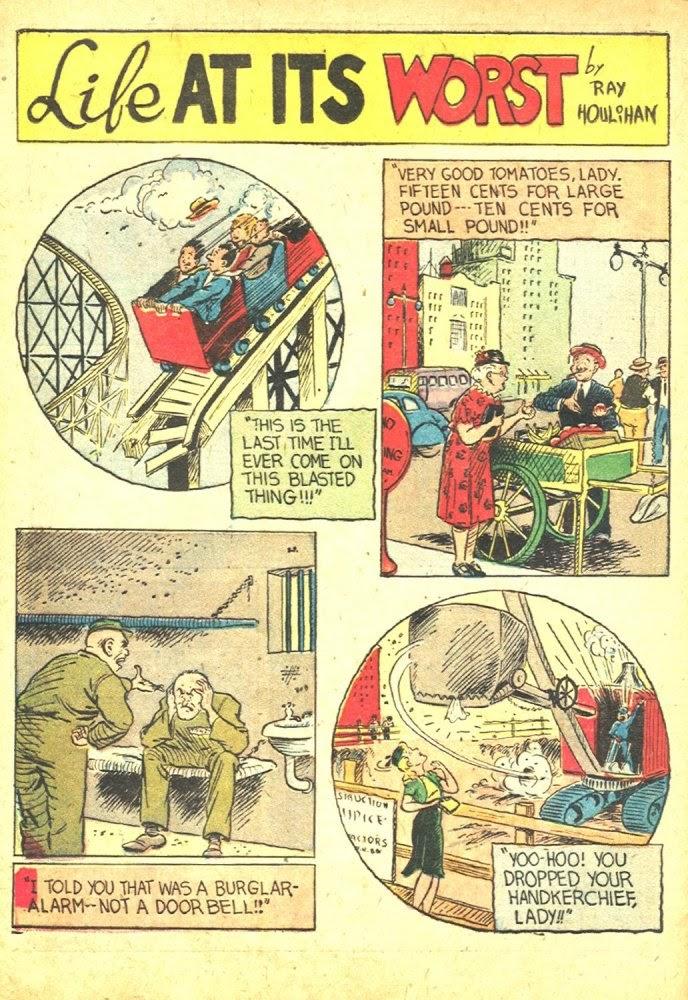 Read online Amazing Man Comics comic -  Issue #25 - 60