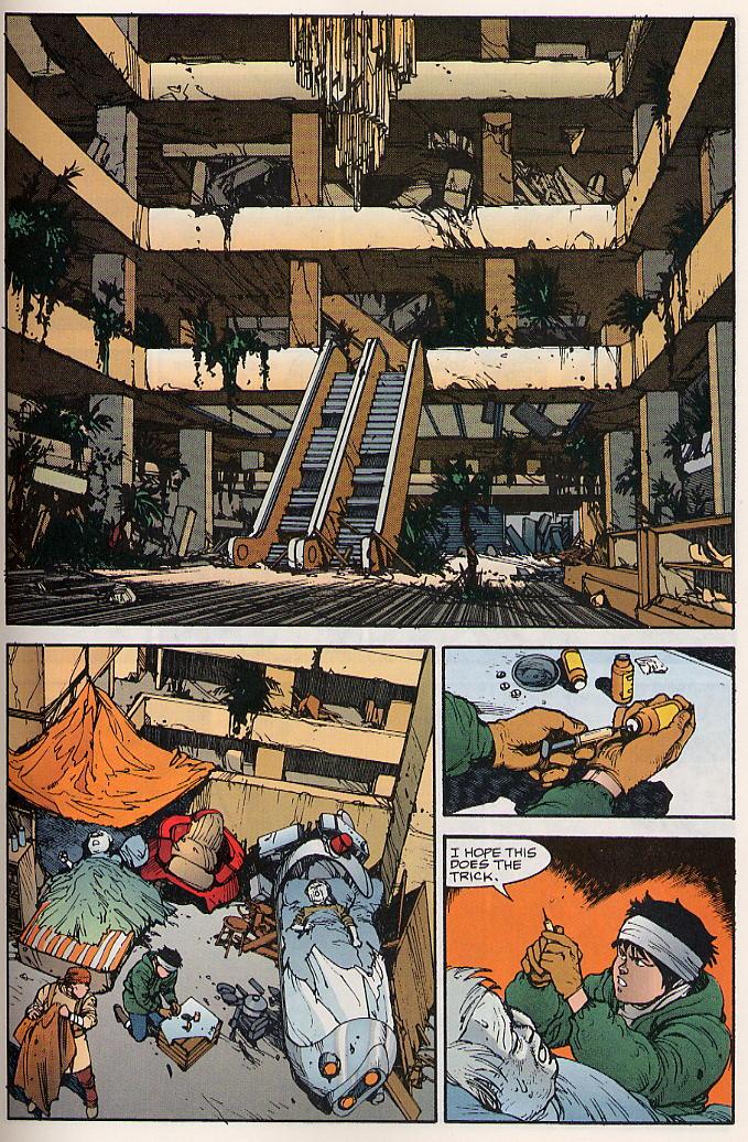 Read online Akira comic -  Issue #17 - 46