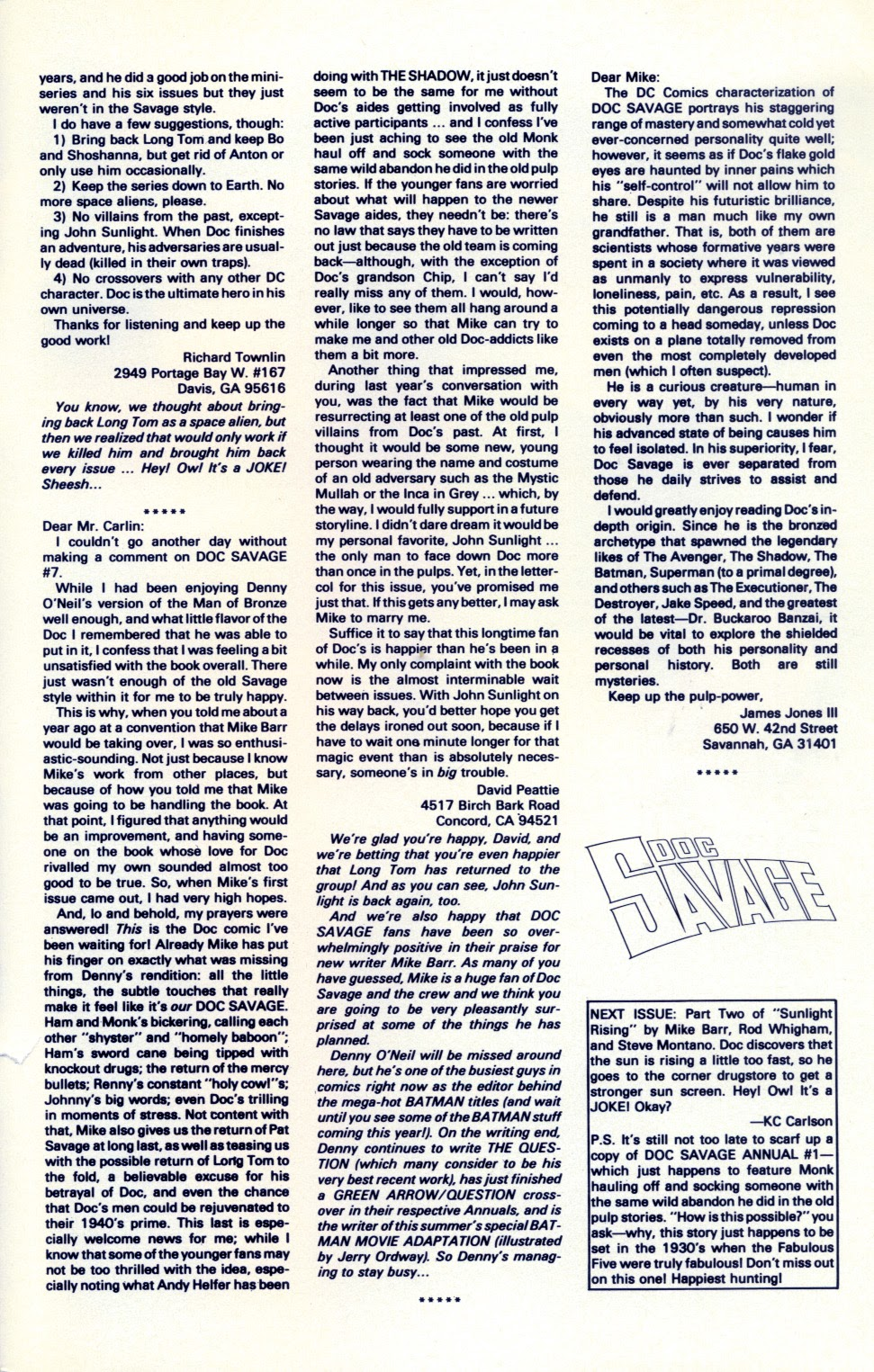 Doc Savage (1988) issue 11 - Page 31