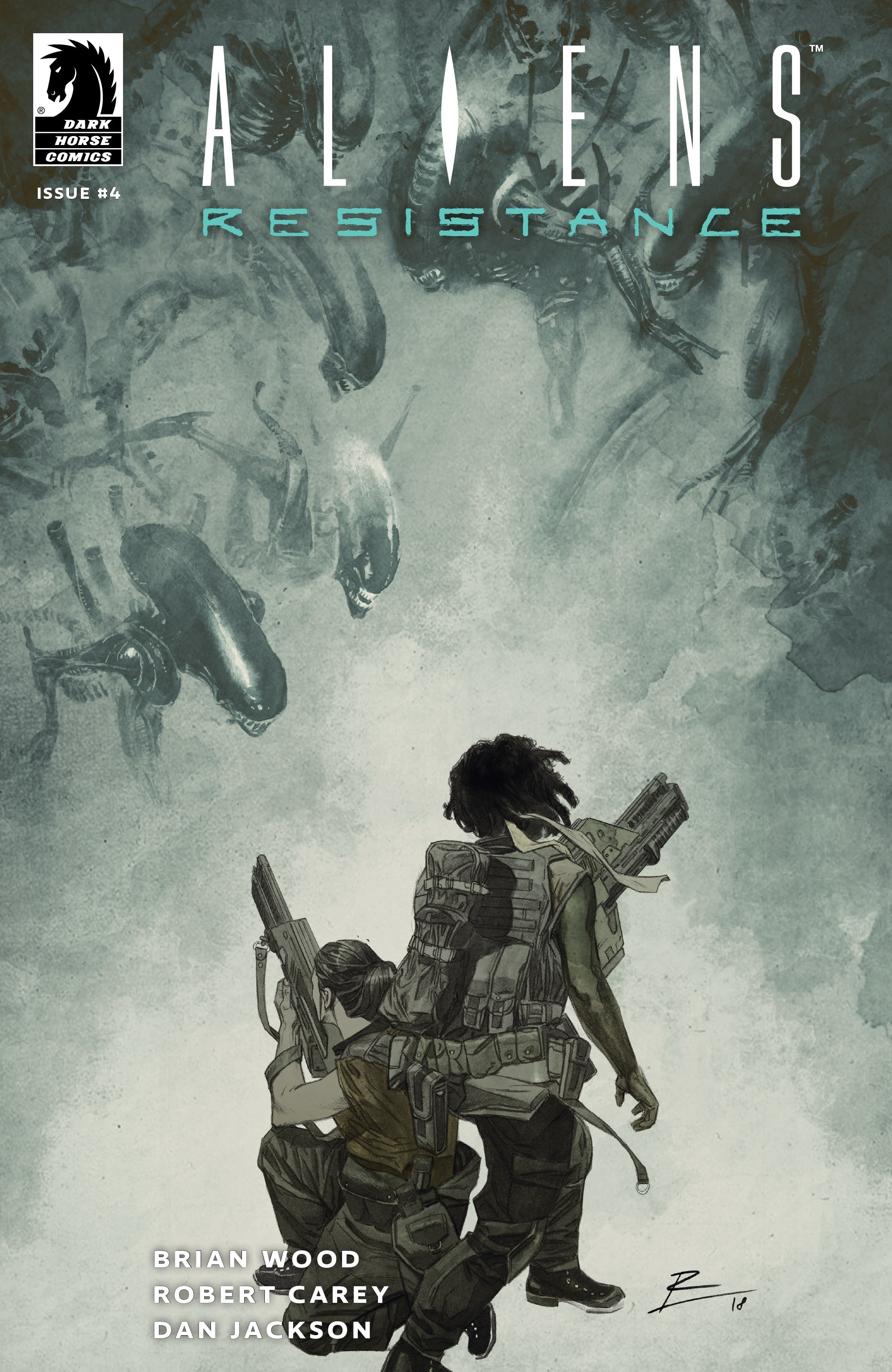Aliens: Resistance 4 Page 1