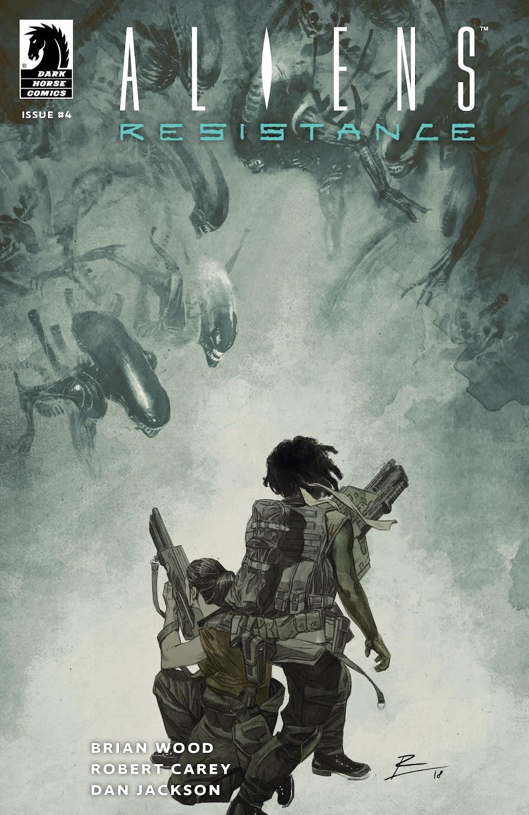 Read online Aliens: Resistance comic -  Issue #4 - 1