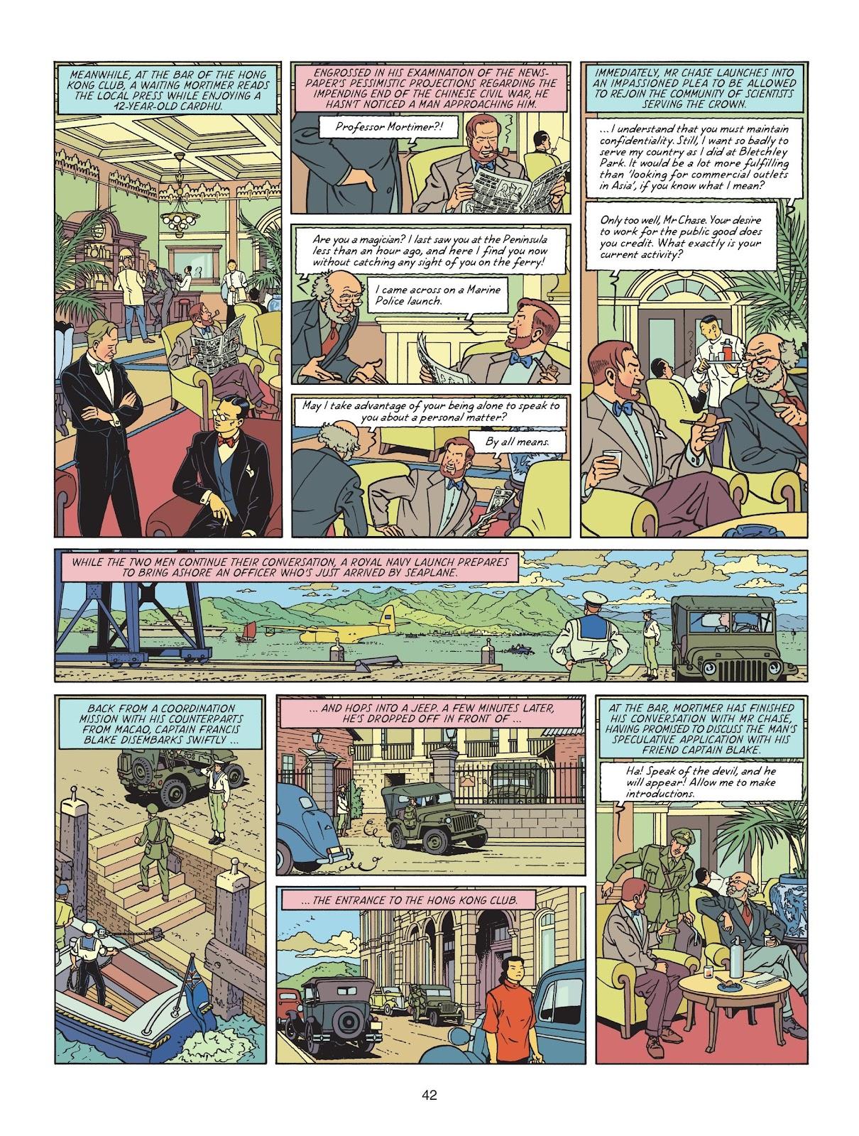 Read online Blake & Mortimer comic -  Issue #25 - 44