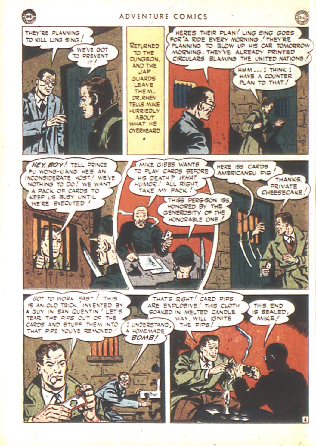 Read online Adventure Comics (1938) comic -  Issue #92 - 38