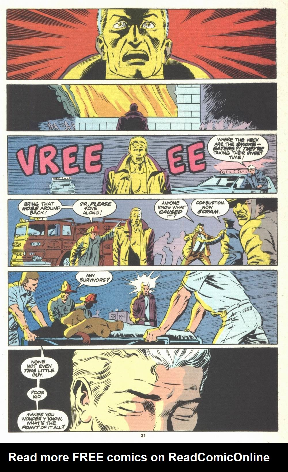 Read online Justice (1986) comic -  Issue #23 - 23