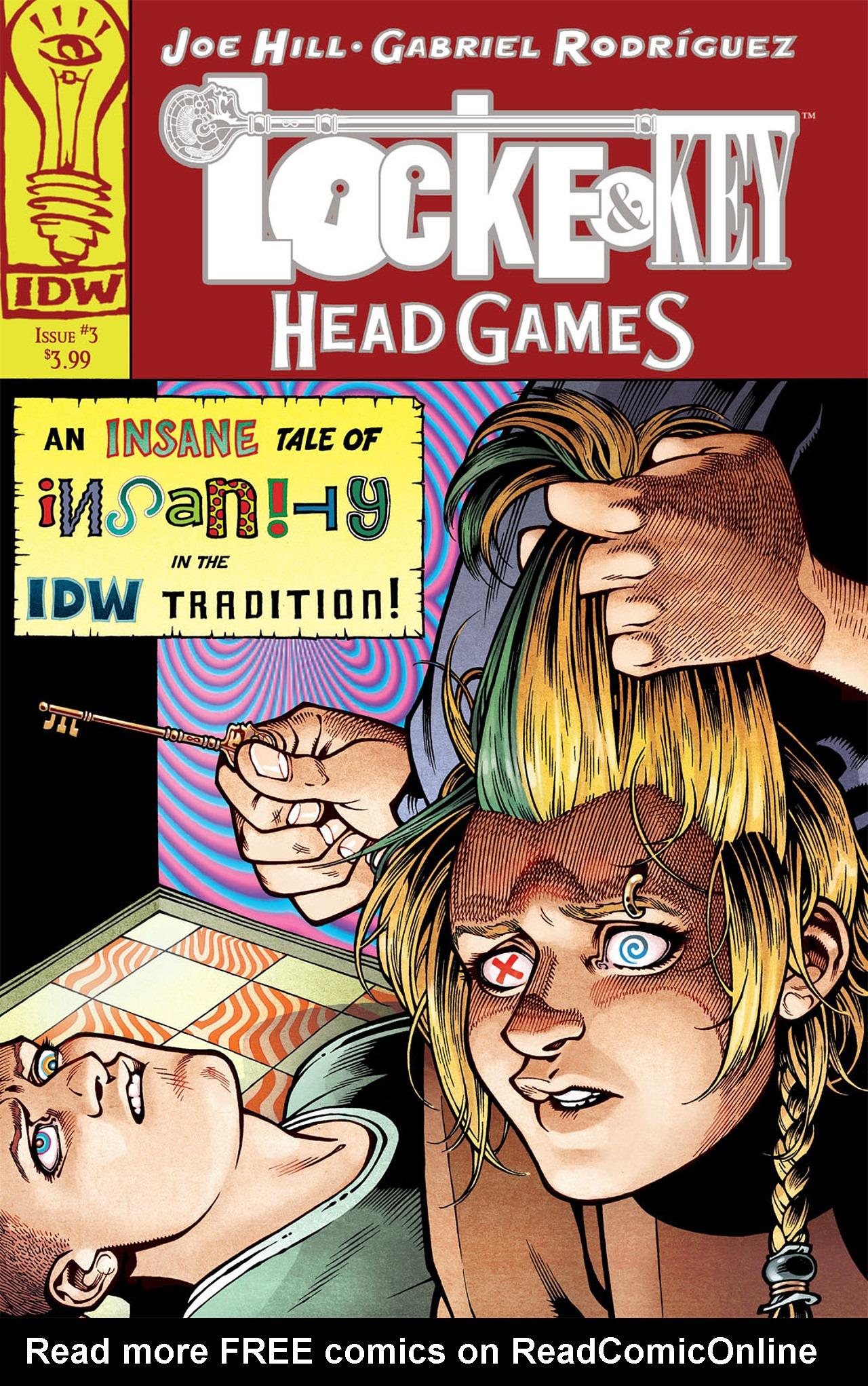 Locke & Key: Head Games 3 Page 1