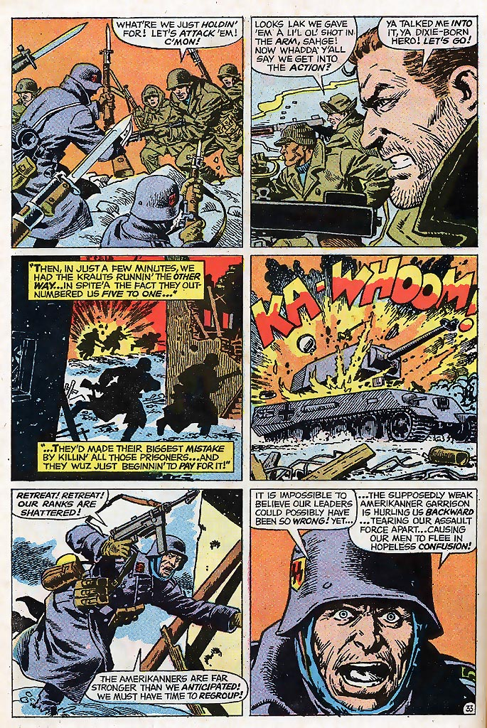 Read online Sgt. Fury comic -  Issue # _Special 4 - 40