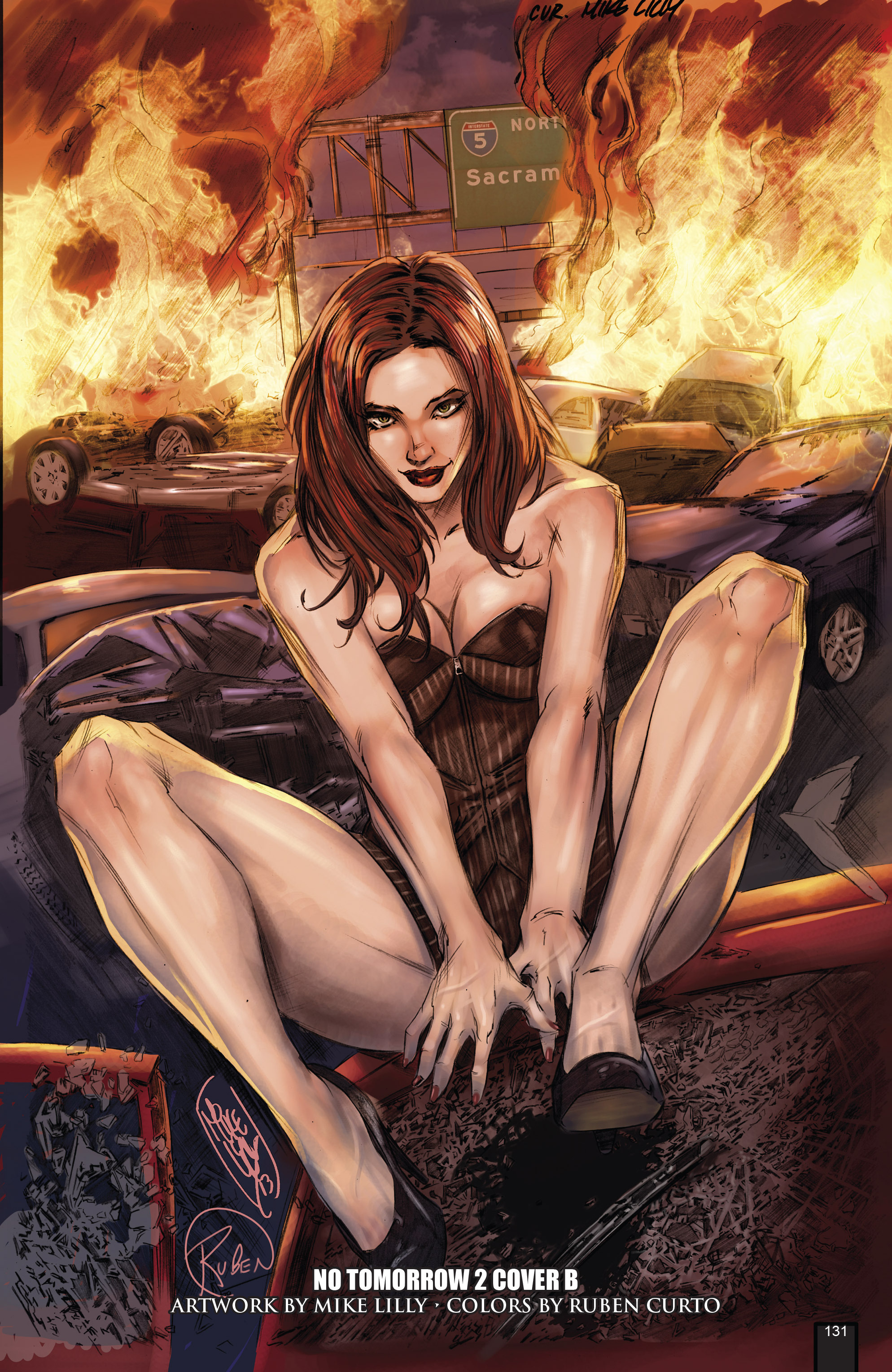 Read online Grimm Fairy Tales presents No Tomorrow comic -  Issue # TPB - 121