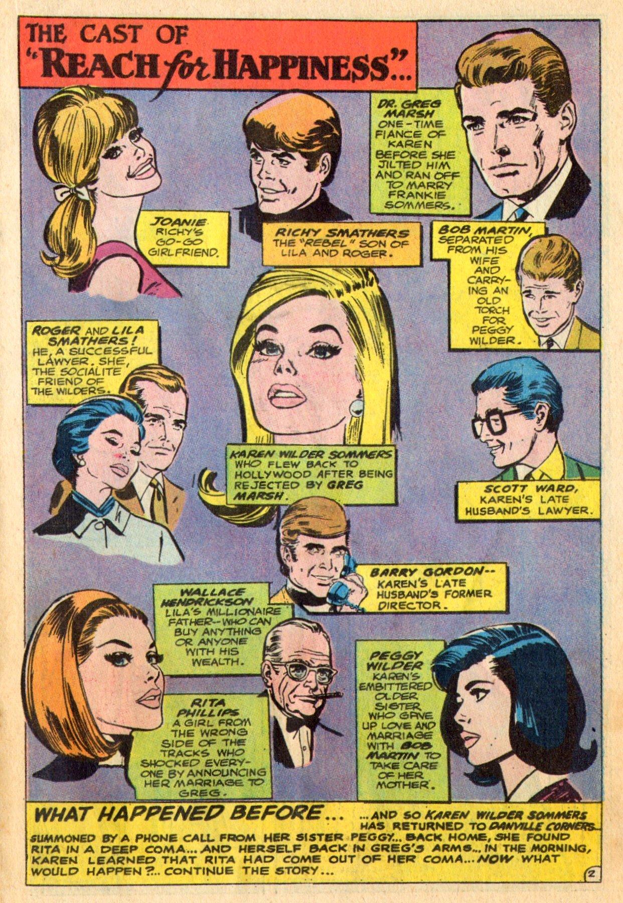 Read online Secret Hearts comic -  Issue #136 - 19