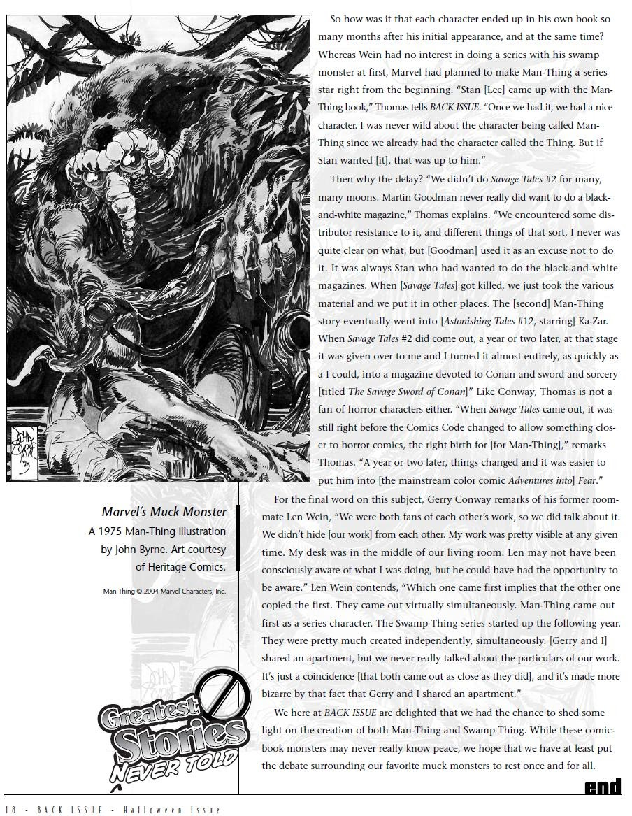 Back Issue issue 6 - Page 19
