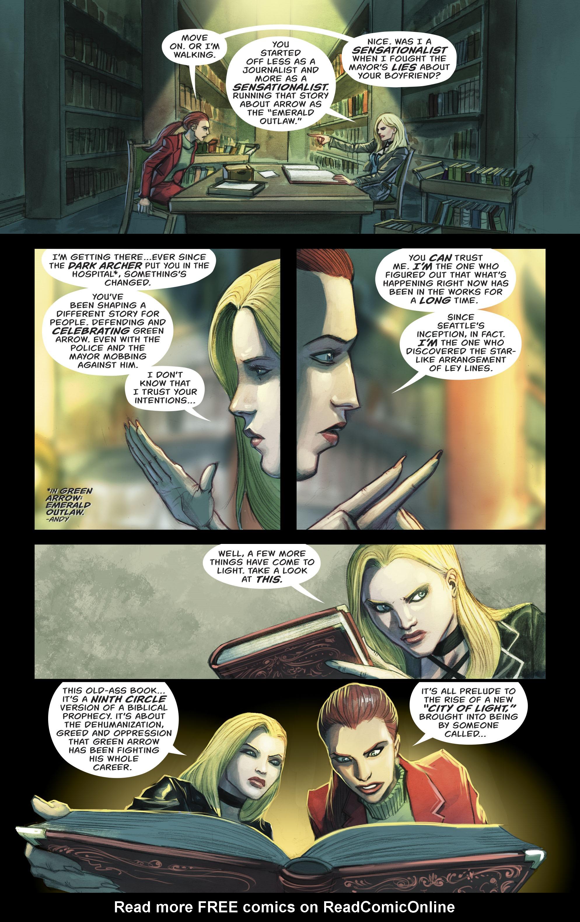 Read online Green Arrow (2016) comic -  Issue #23 - 9