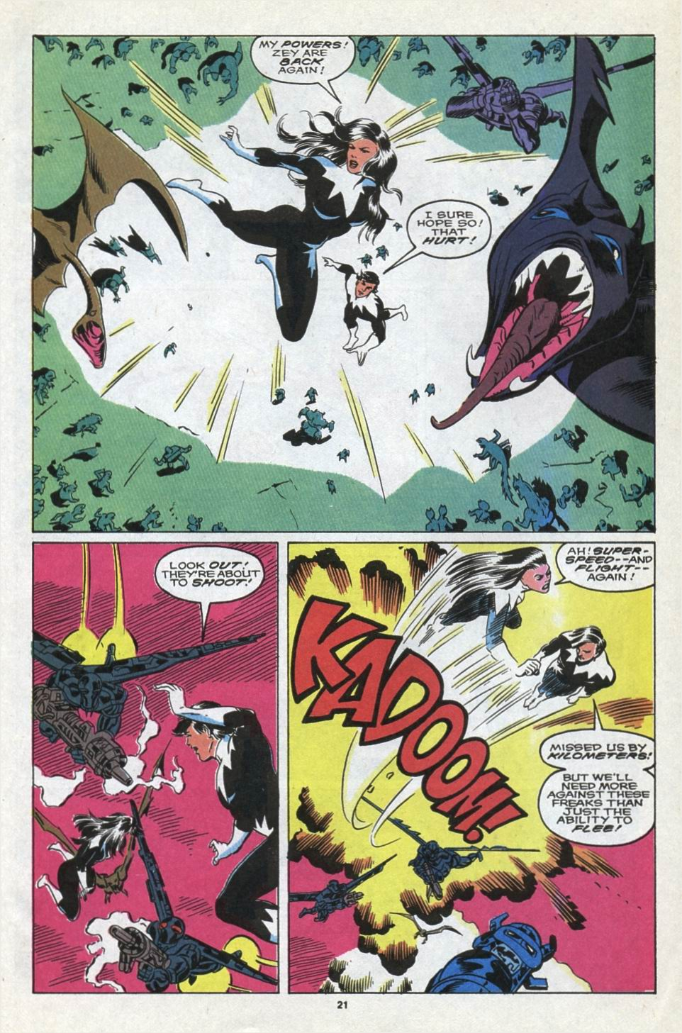 Read online Alpha Flight (1983) comic -  Issue #85 - 18