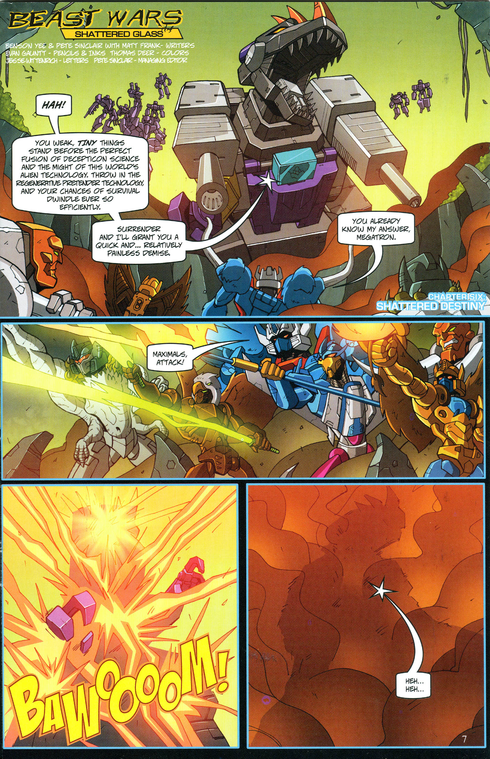 Read online Transformers: Collectors' Club comic -  Issue #54 - 7