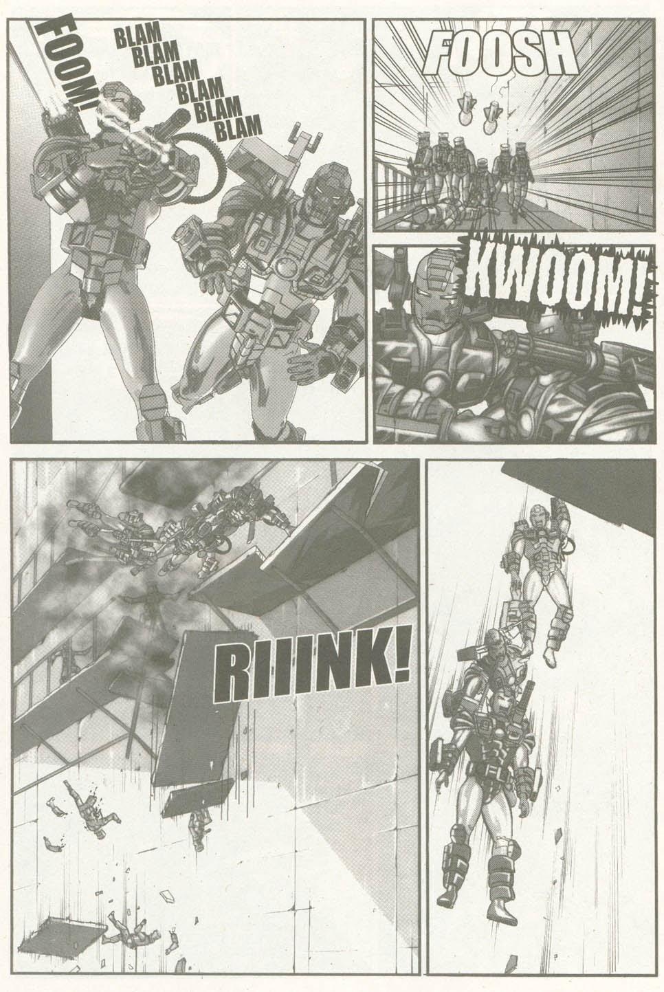 Read online U.S. War Machine comic -  Issue #6 - 23