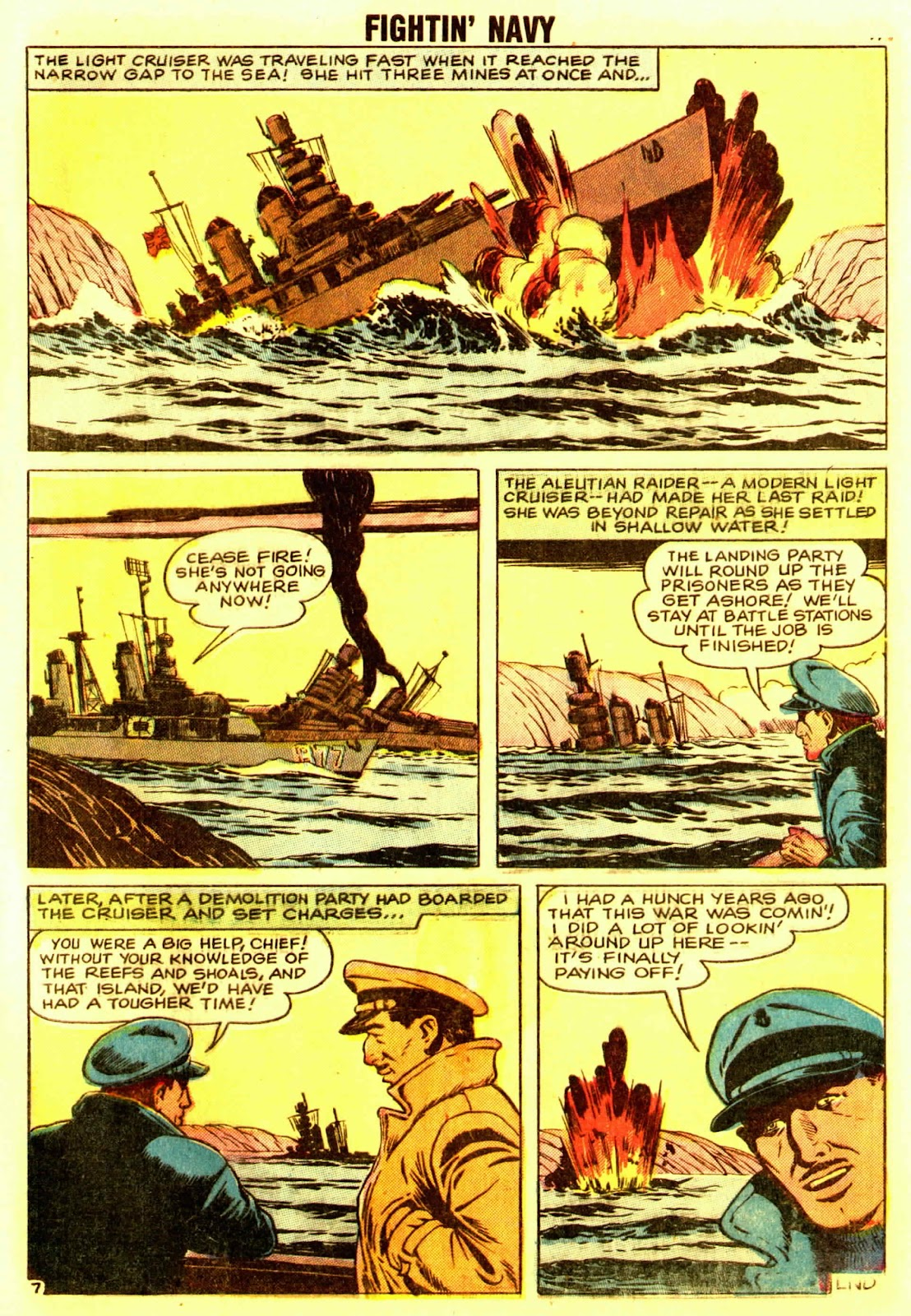 Read online Fightin' Navy comic -  Issue #83 - 73