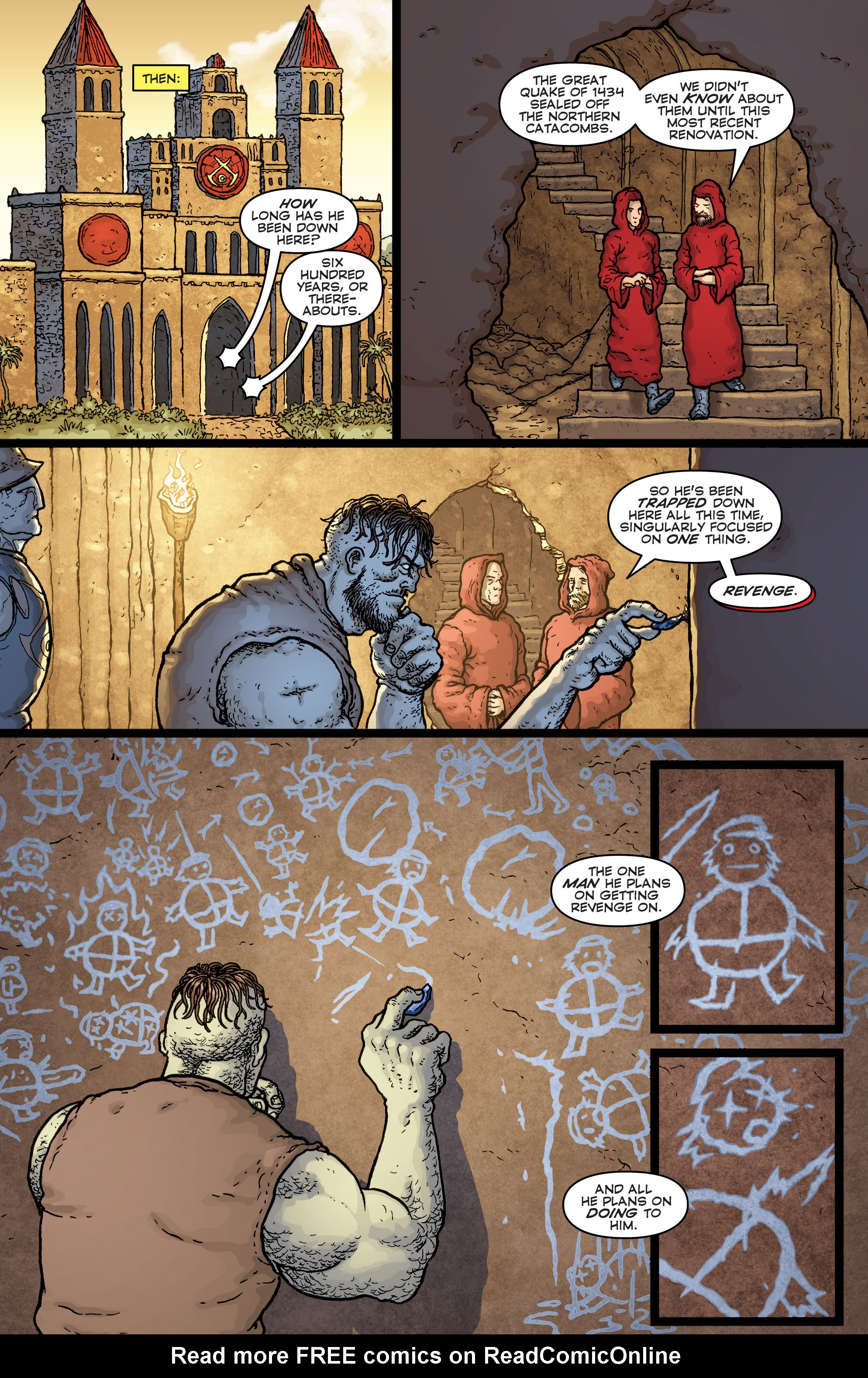 Read online Archer and Armstrong comic -  Issue #Archer and Armstrong _TPB 7 - 33