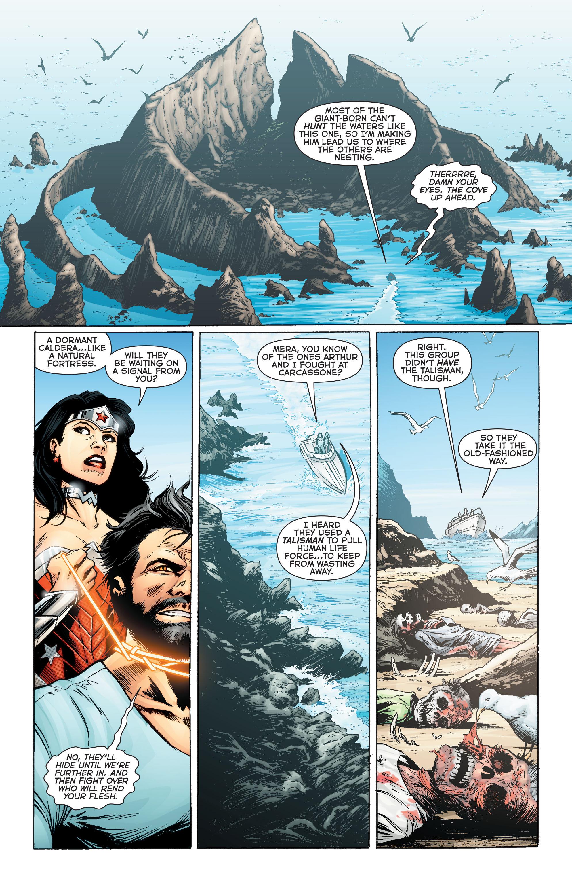 Read online Aquaman (2011) comic -  Issue #Aquaman (2011) _Annual 2 - 31