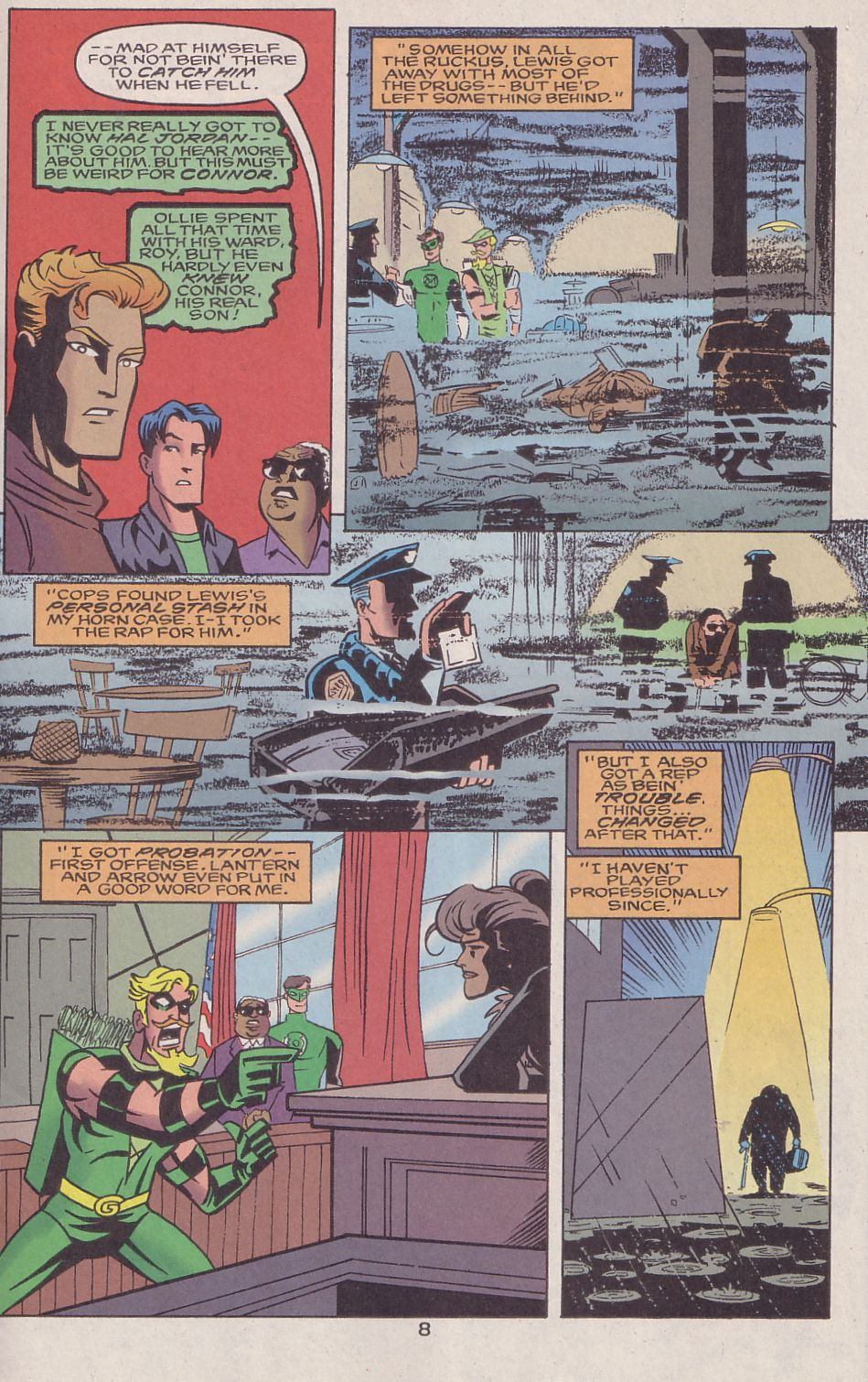 Read online Adventures in the DC Universe comic -  Issue #16 - 9