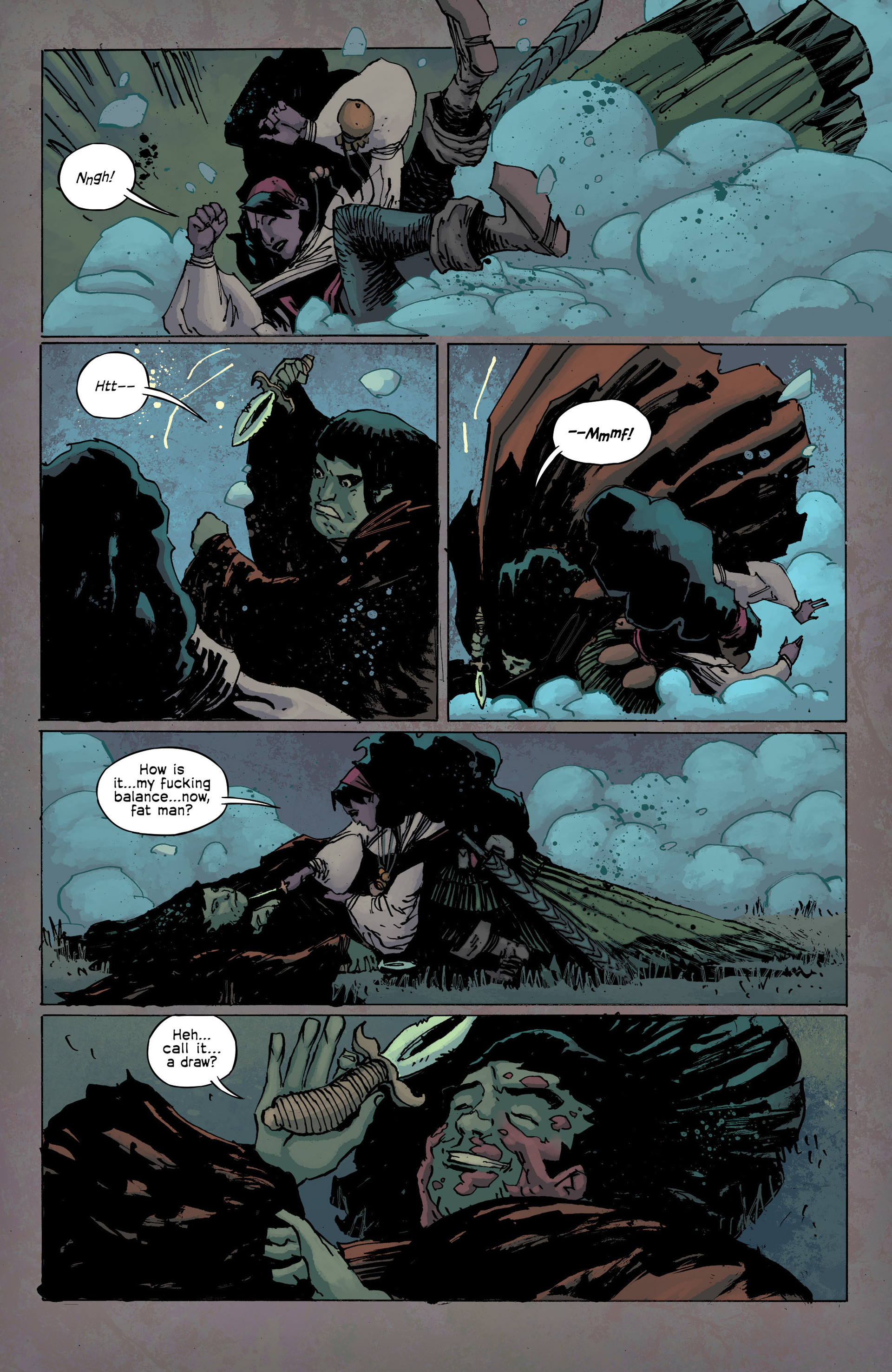 Read online Umbral comic -  Issue #9 - 10