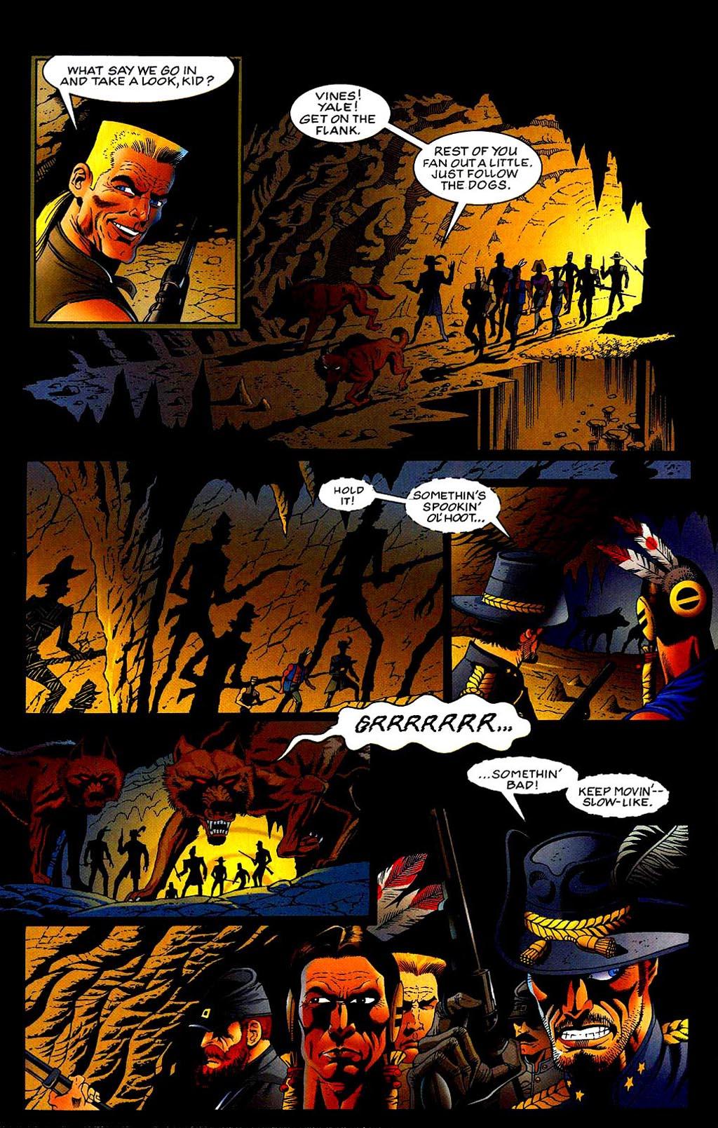Read online Turok, Dinosaur Hunter (1993) comic -  Issue #40 - 8