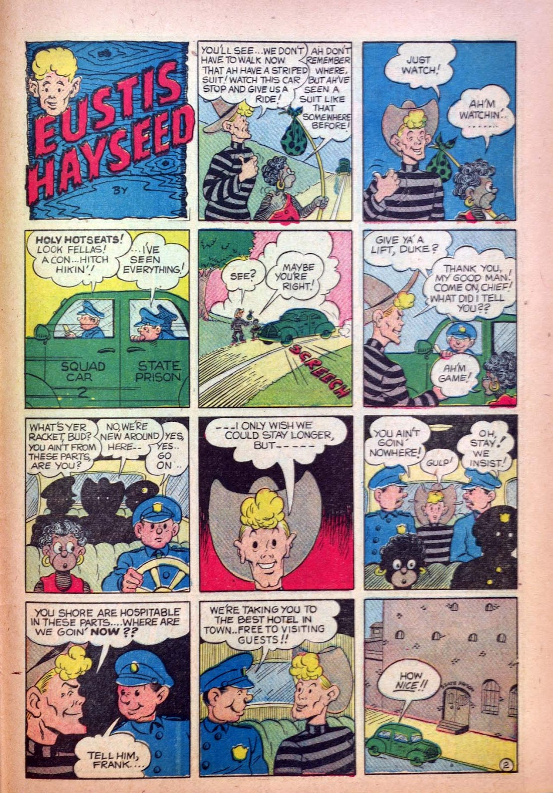 Read online Joker Comics comic -  Issue #7 - 55