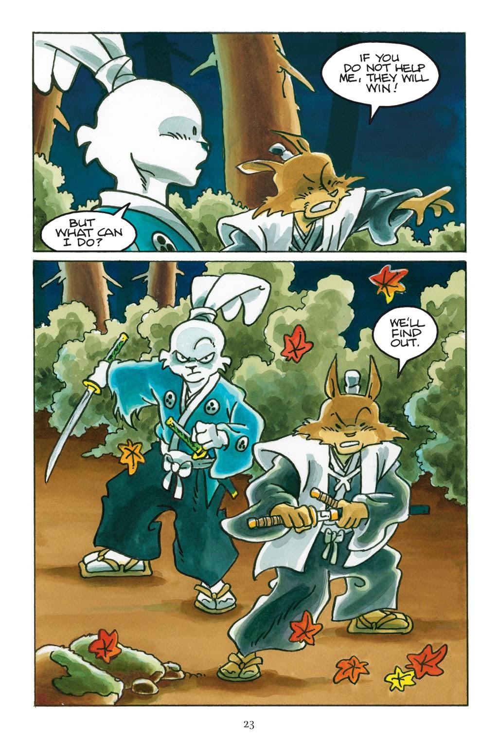 Read online Usagi Yojimbo: Yokai comic -  Issue # Full - 24