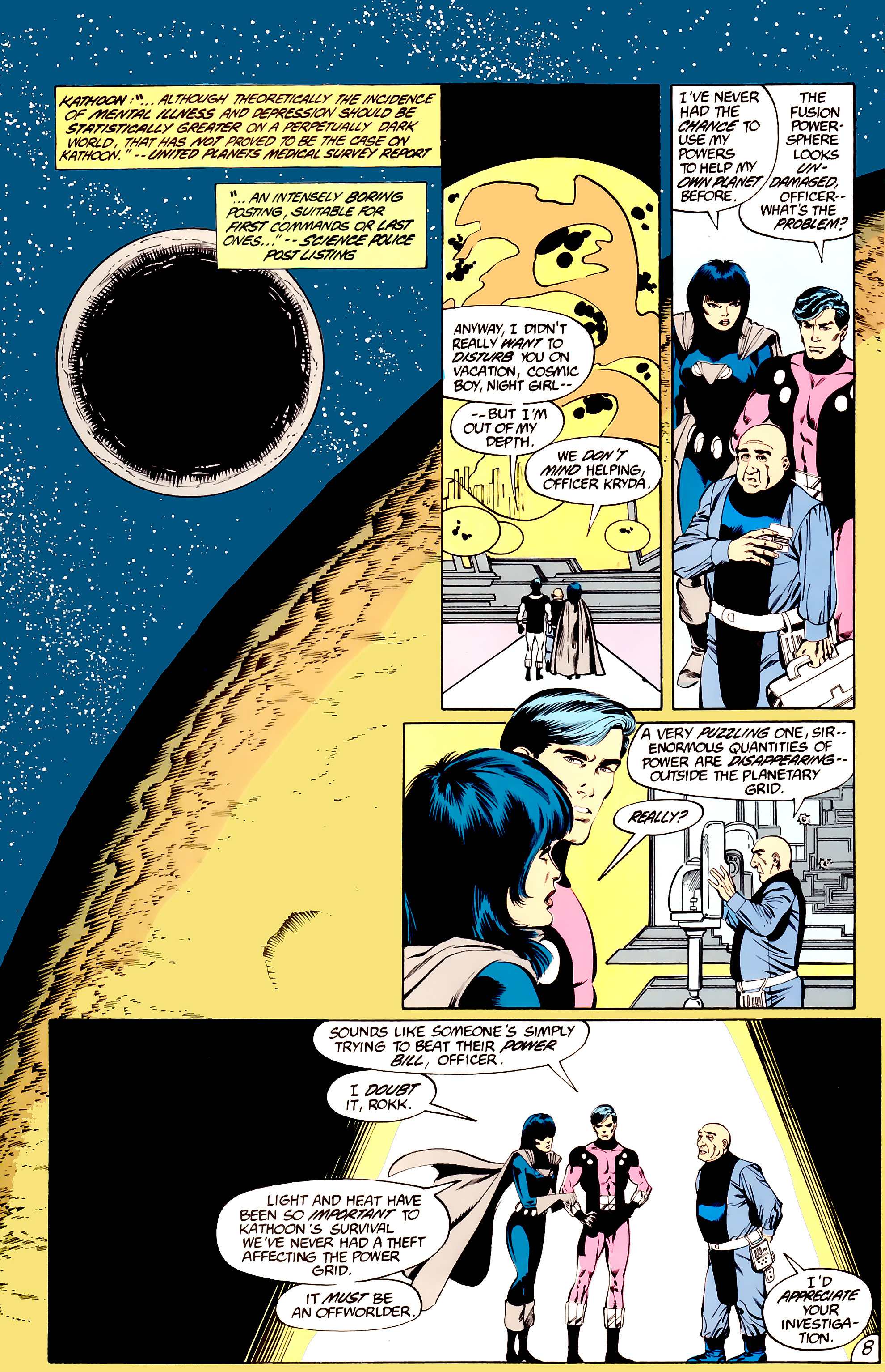 Legion of Super-Heroes (1984) _Annual_3 Page 8