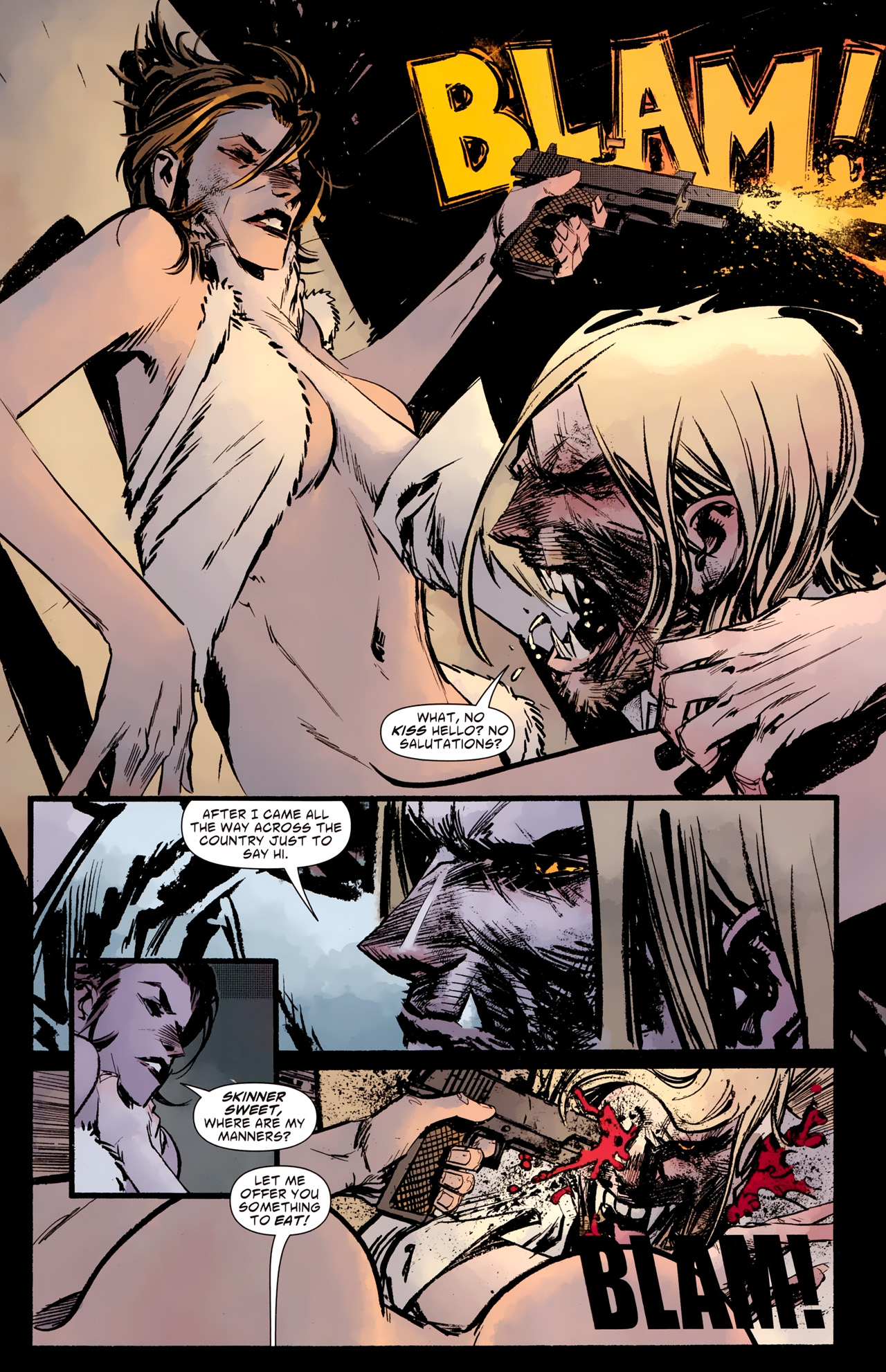 Read online American Vampire: Survival of the Fittest comic -  Issue #2 - 4