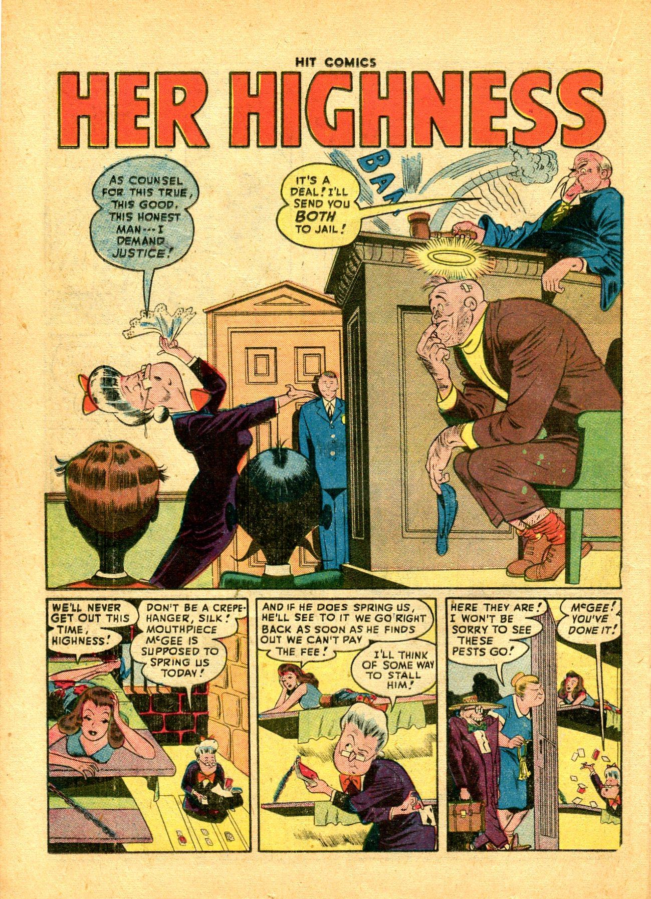 Read online Hit Comics comic -  Issue #49 - 32
