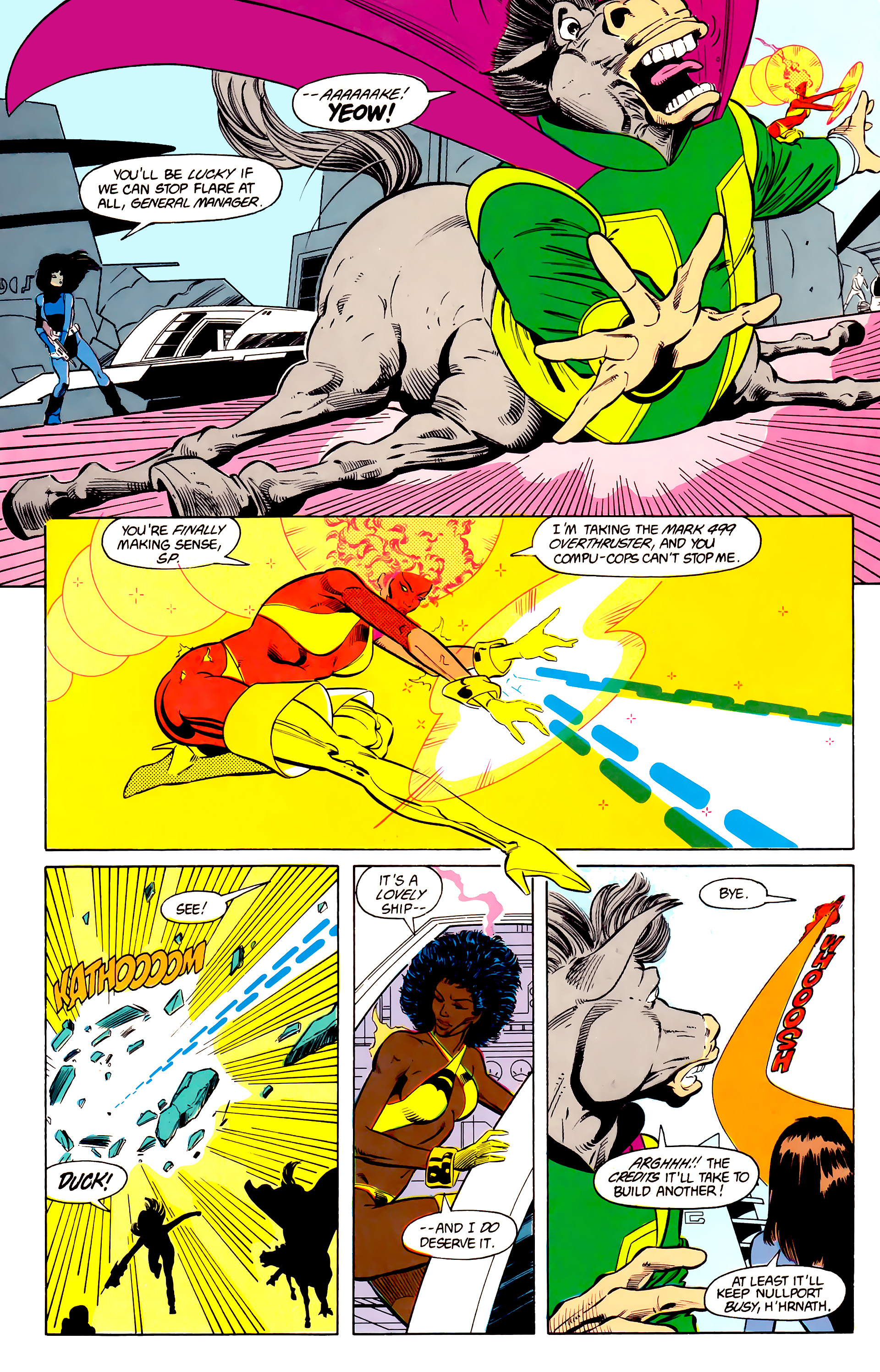 Legion of Super-Heroes (1984) 24 Page 19