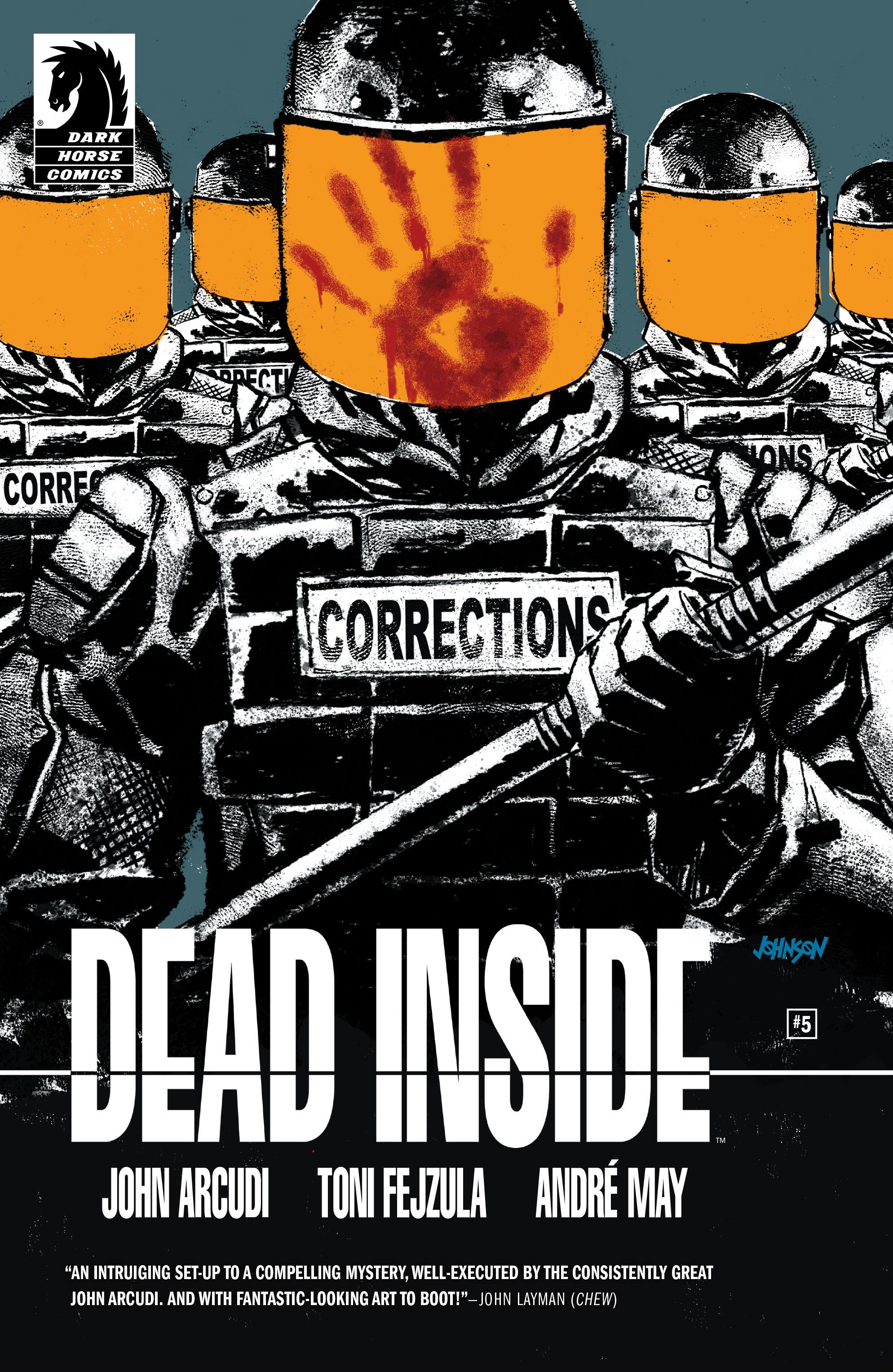 Read online Dead Inside comic -  Issue #5 - 1