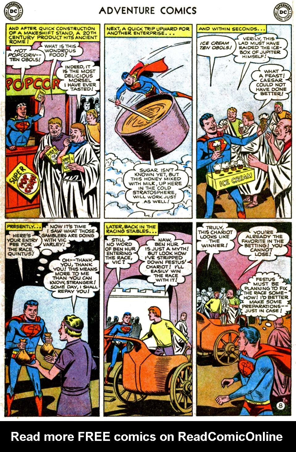 Read online Adventure Comics (1938) comic -  Issue #177 - 10
