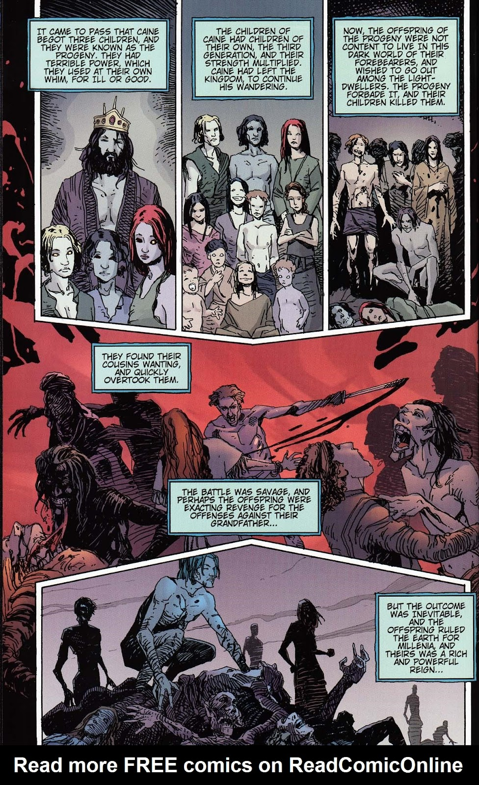 Read online Vampire the Masquerade comic -  Issue # Toreador - 28