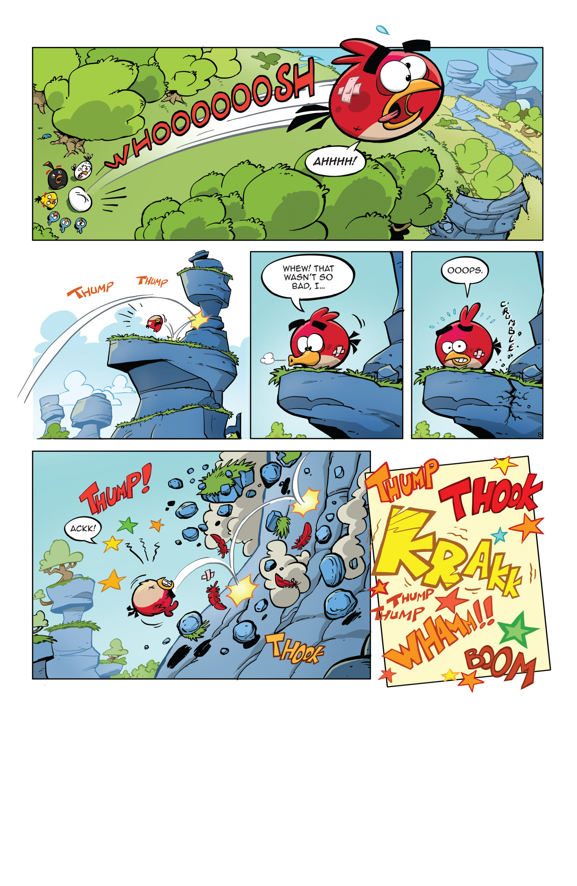 Read online Angry Birds Comics (2014) comic -  Issue #5 - 20