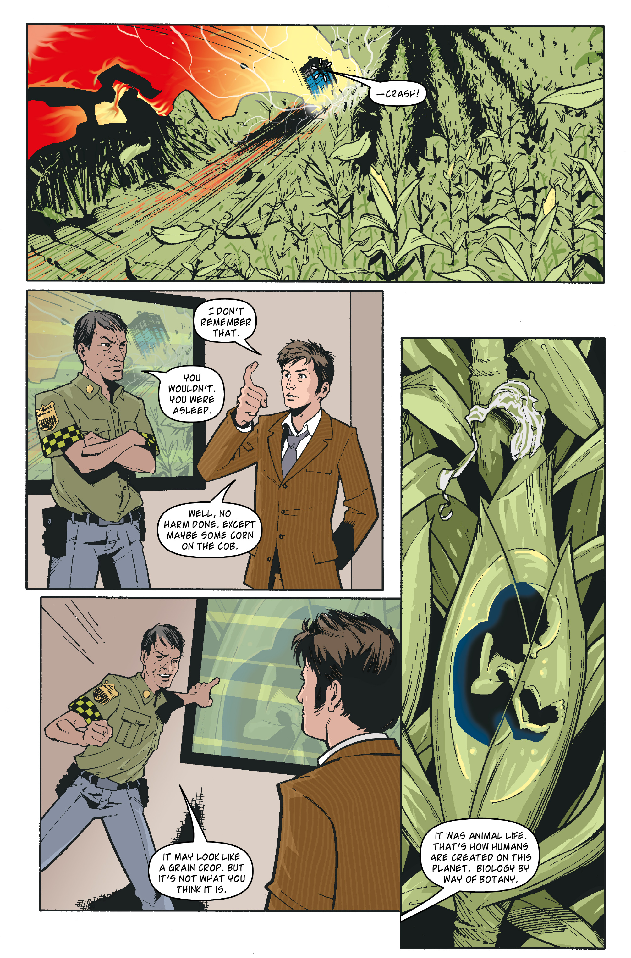 Read online Doctor Who: The Tenth Doctor Archives comic -  Issue #35 - 20