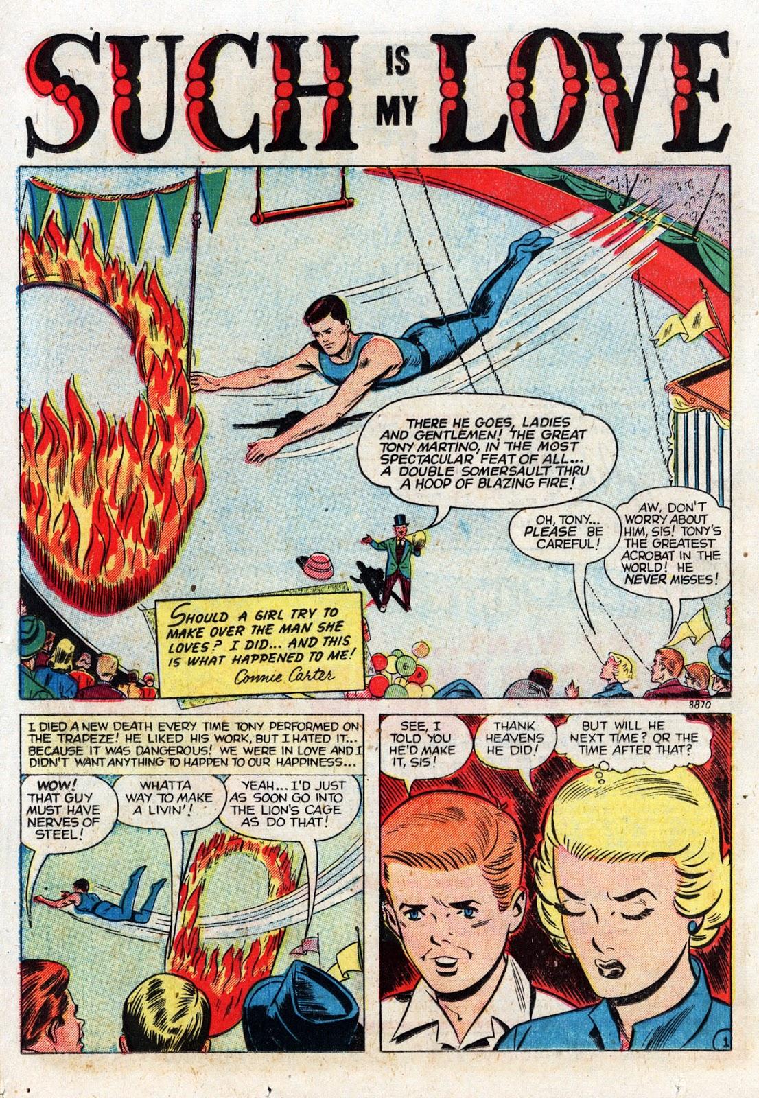 Love Romances (1949) issue 19 - Page 20