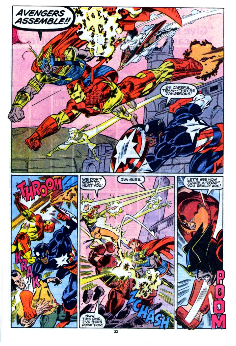 The New Warriors Issue #12 #16 - English 18