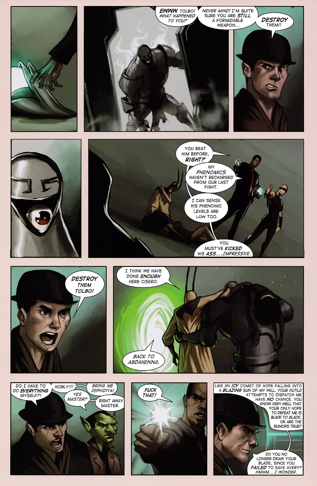 Read online Vescell comic -  Issue #3 - 7