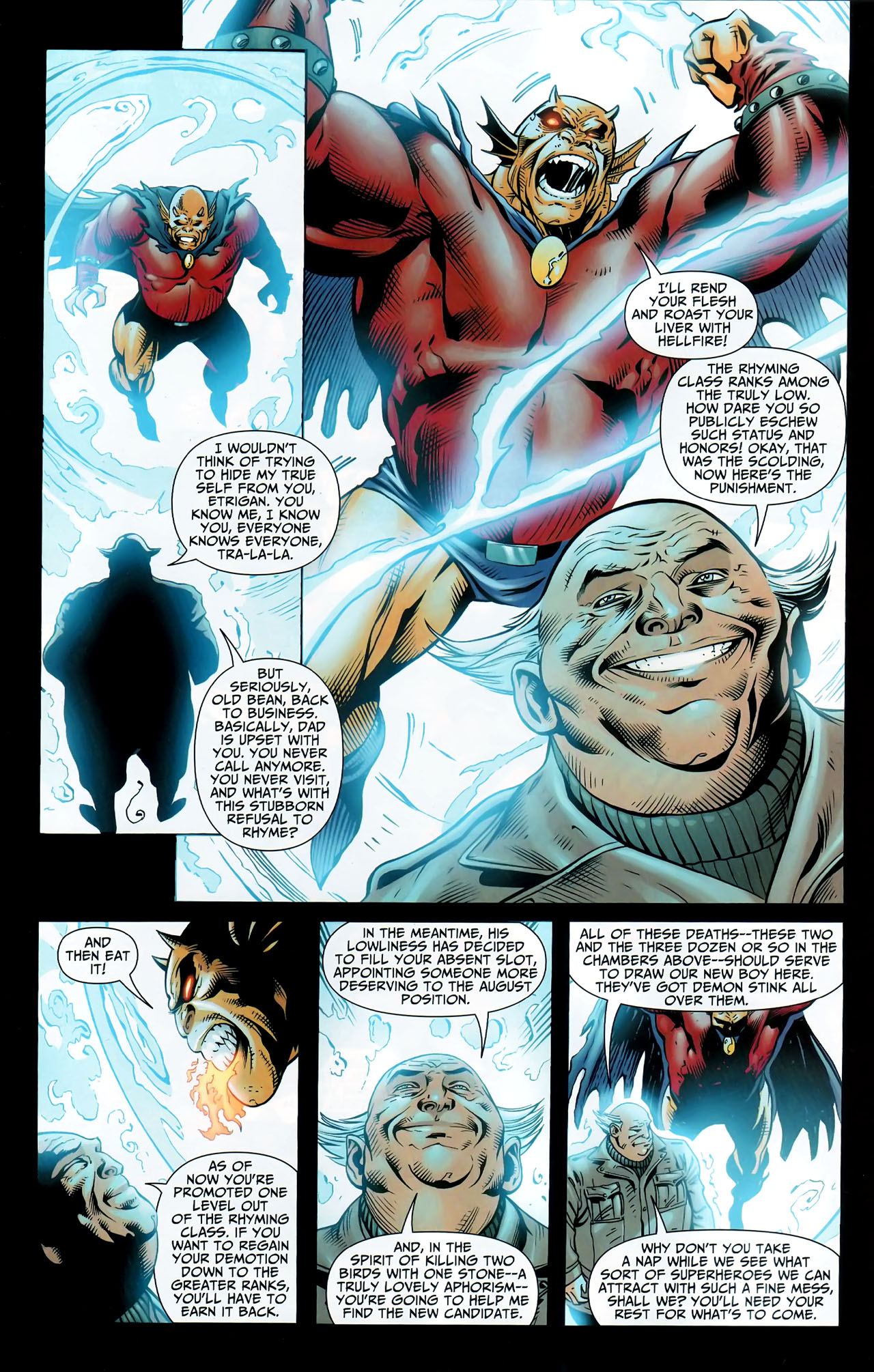 Read online Shadowpact comic -  Issue #9 - 8