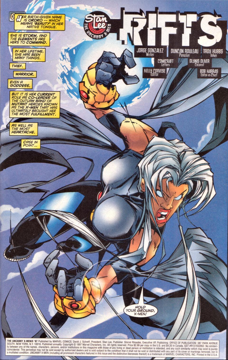 Read online Uncanny X-Men (1963) comic -  Issue # _Annual 1997 - 2