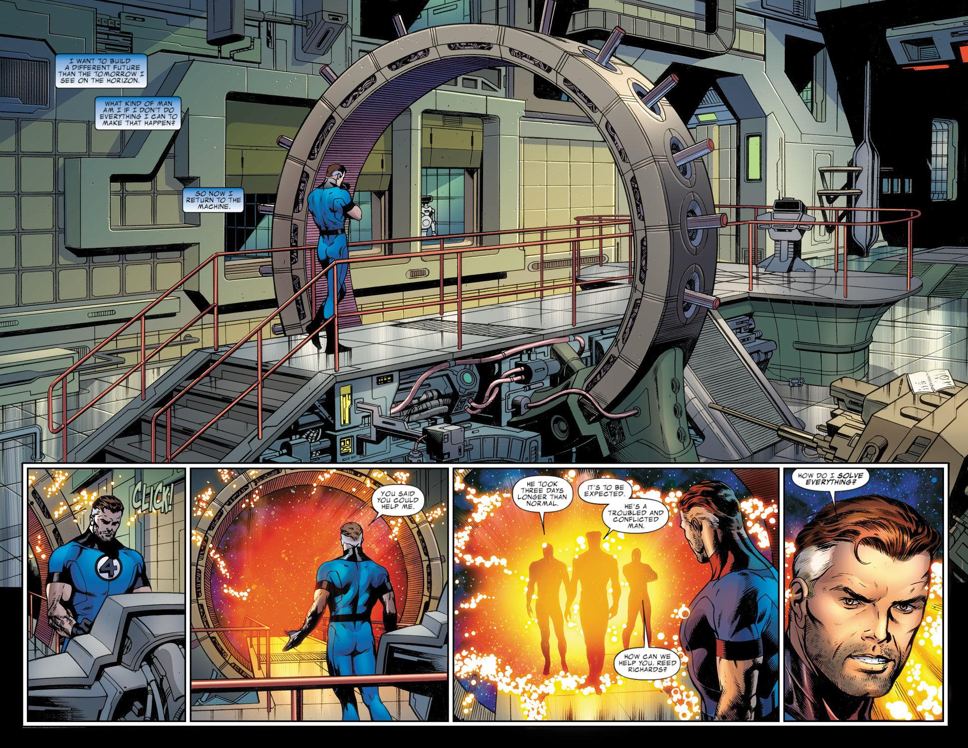 Read online Fantastic Four: Season One comic -  Issue # TPB - 125